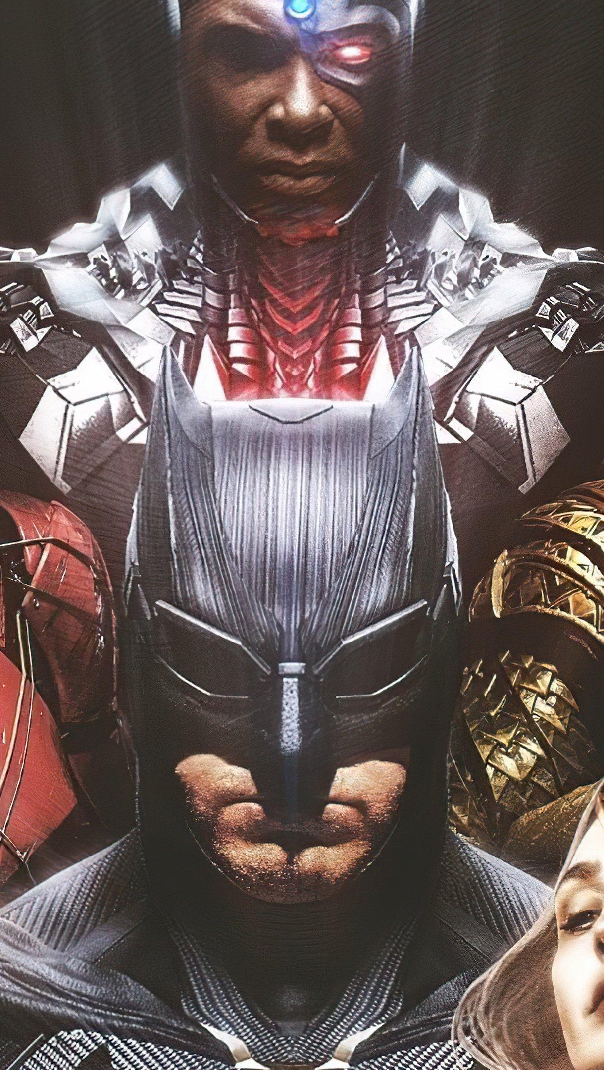 Fondos de pantalla Justice League Snyder Cut Vertical