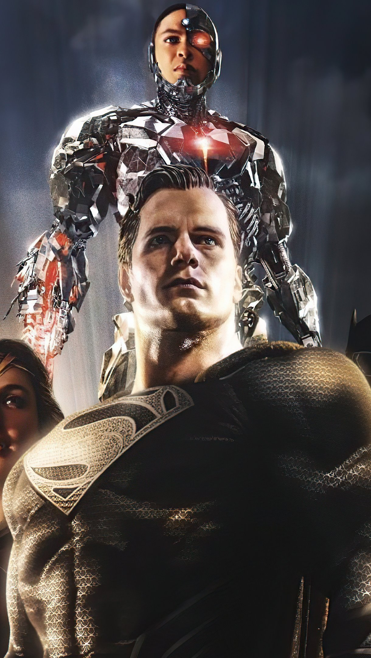 Wallpaper Justice League Snyder Variant Vertical