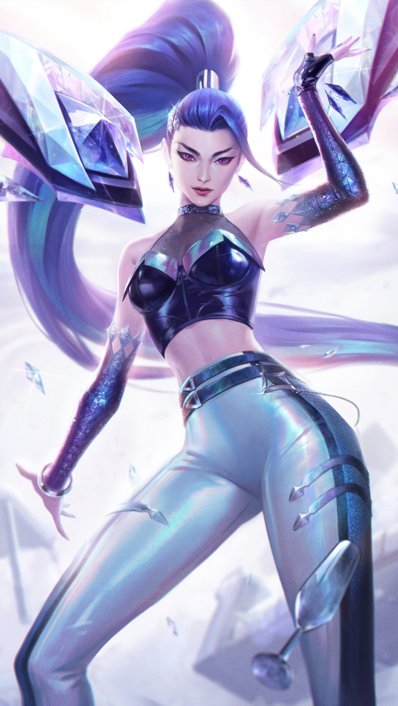 Fondos de pantalla Kaisa de League of Legends Vertical