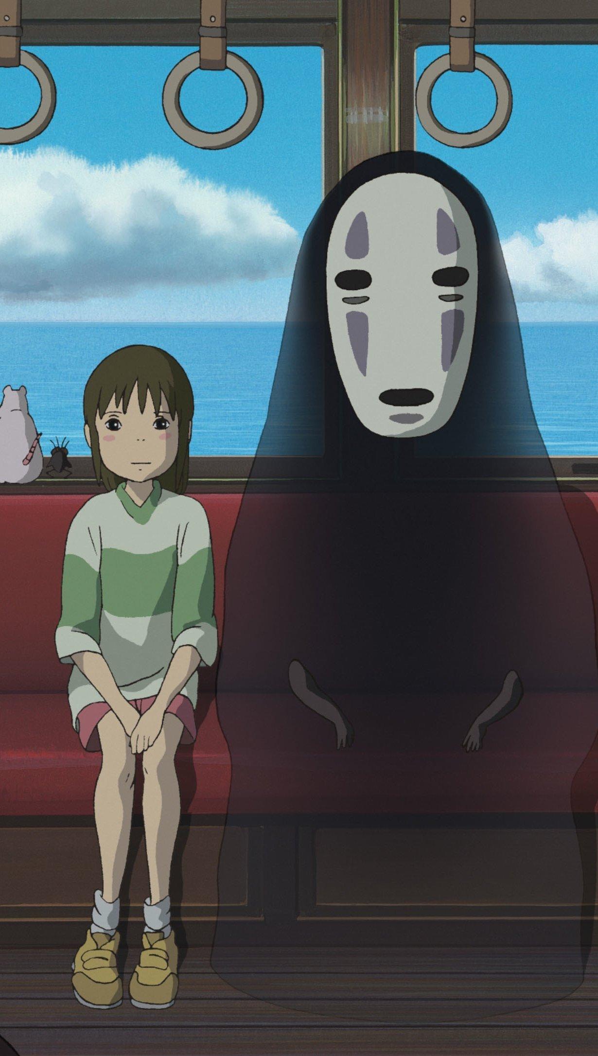 Fondos de pantalla Anime Kaonashi (No-Face) de El viaje de Chihiro Película Vertical