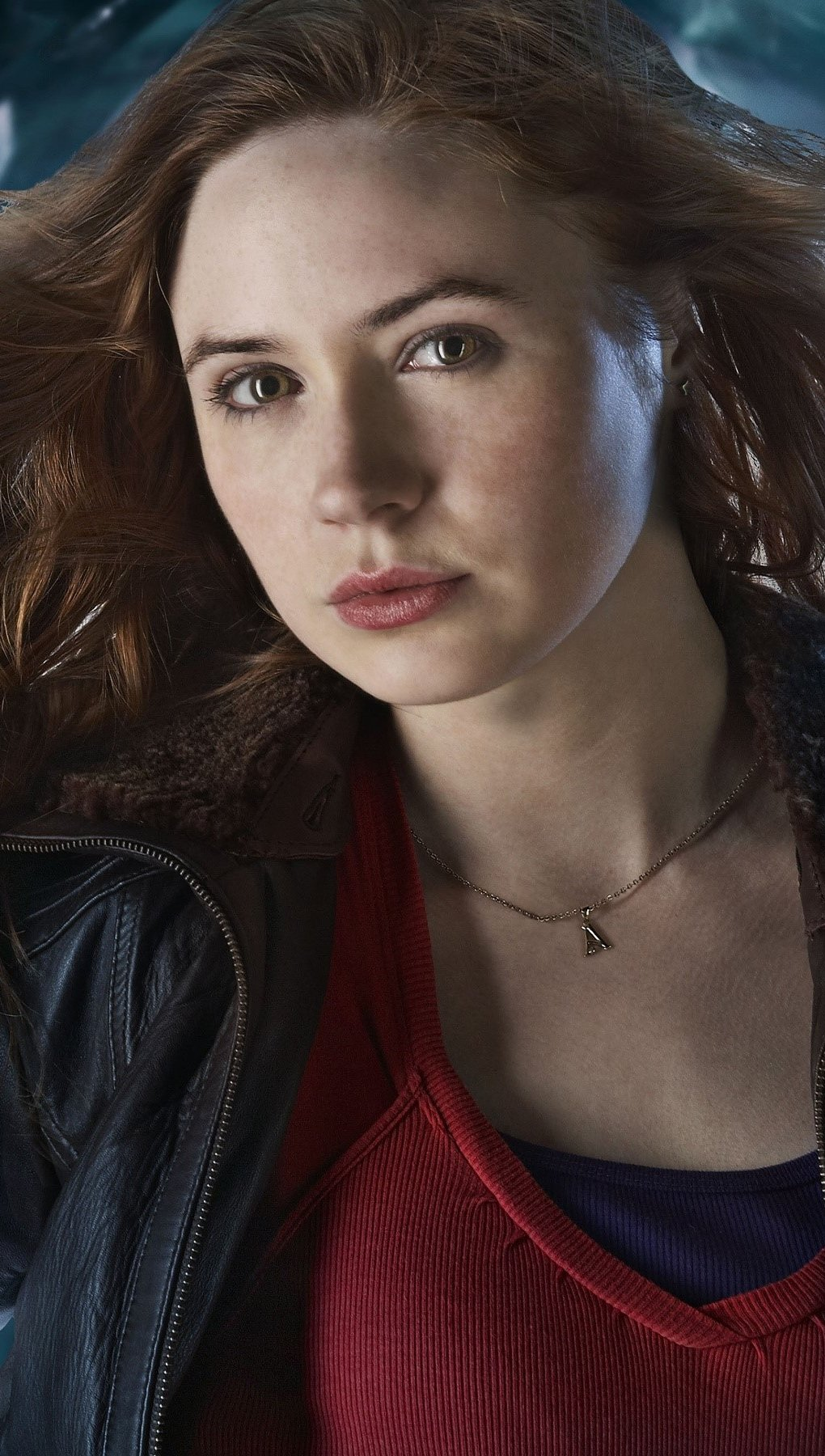 Wallpaper Karen Gillan as Amy Pond Vertical