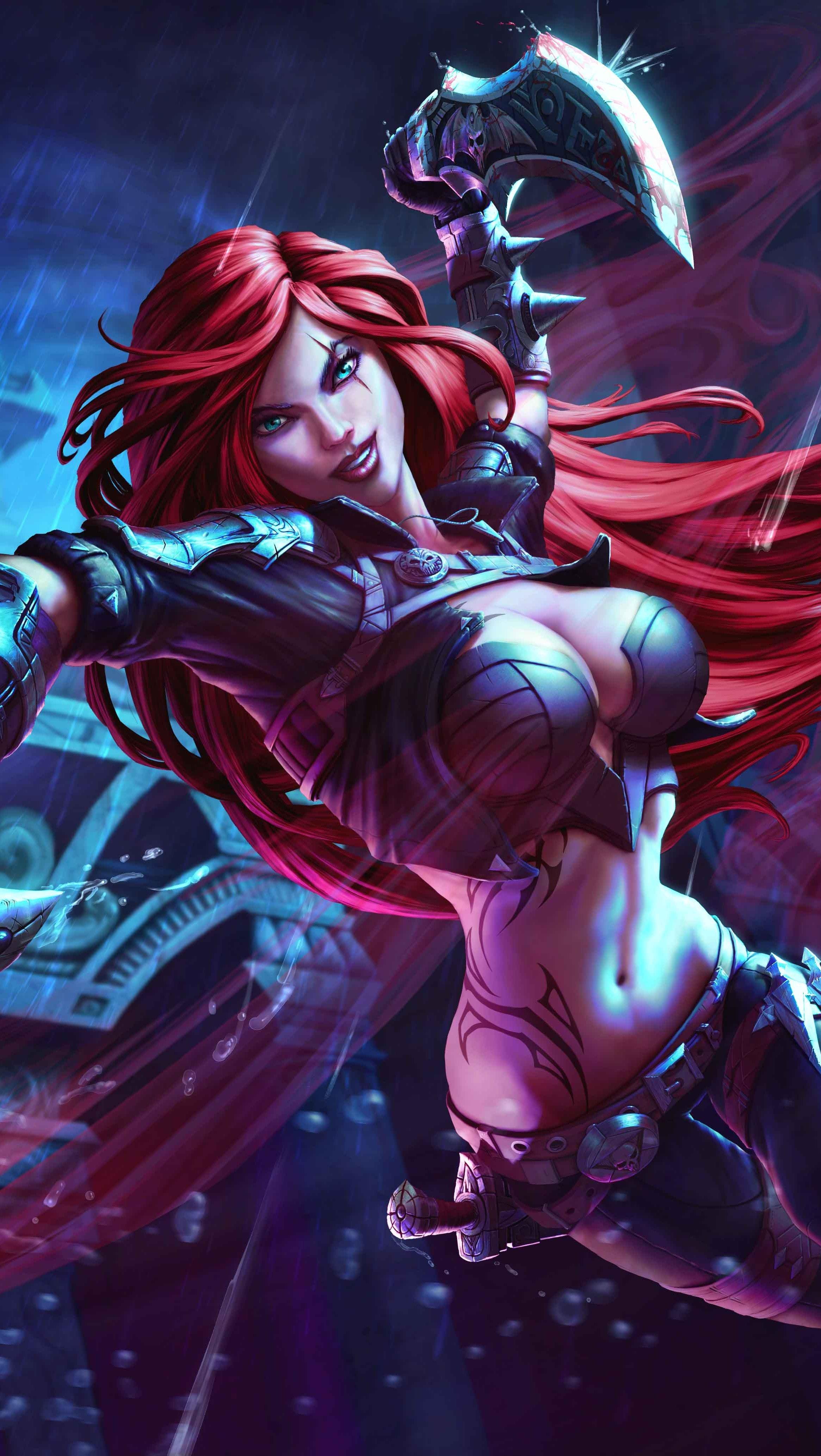 Fondos de pantalla Katarina League Of Legends Vertical