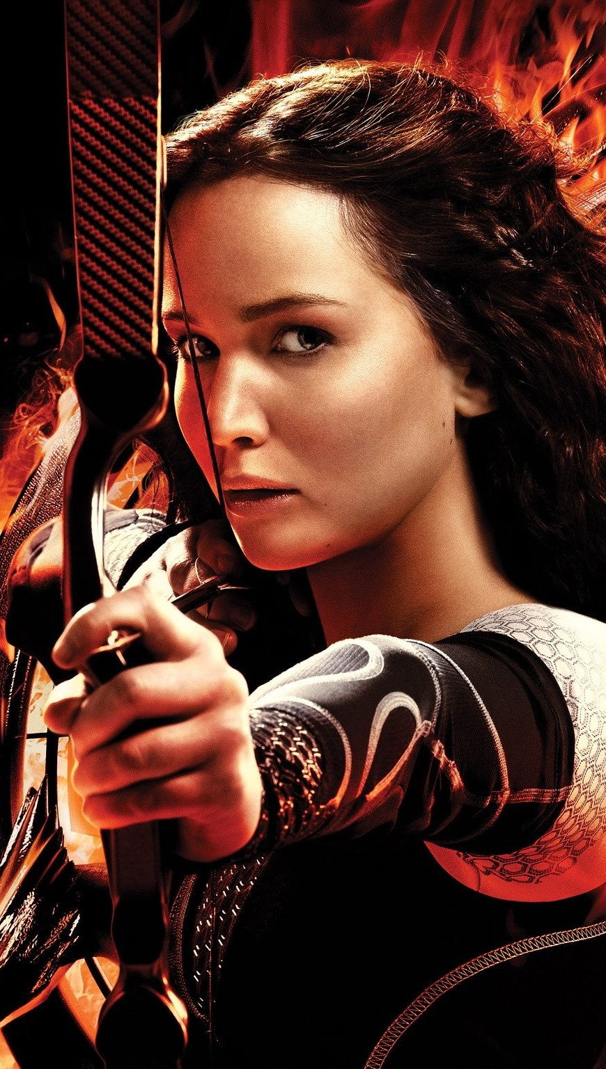 Wallpaper Katniss for Catching Fire Vertical