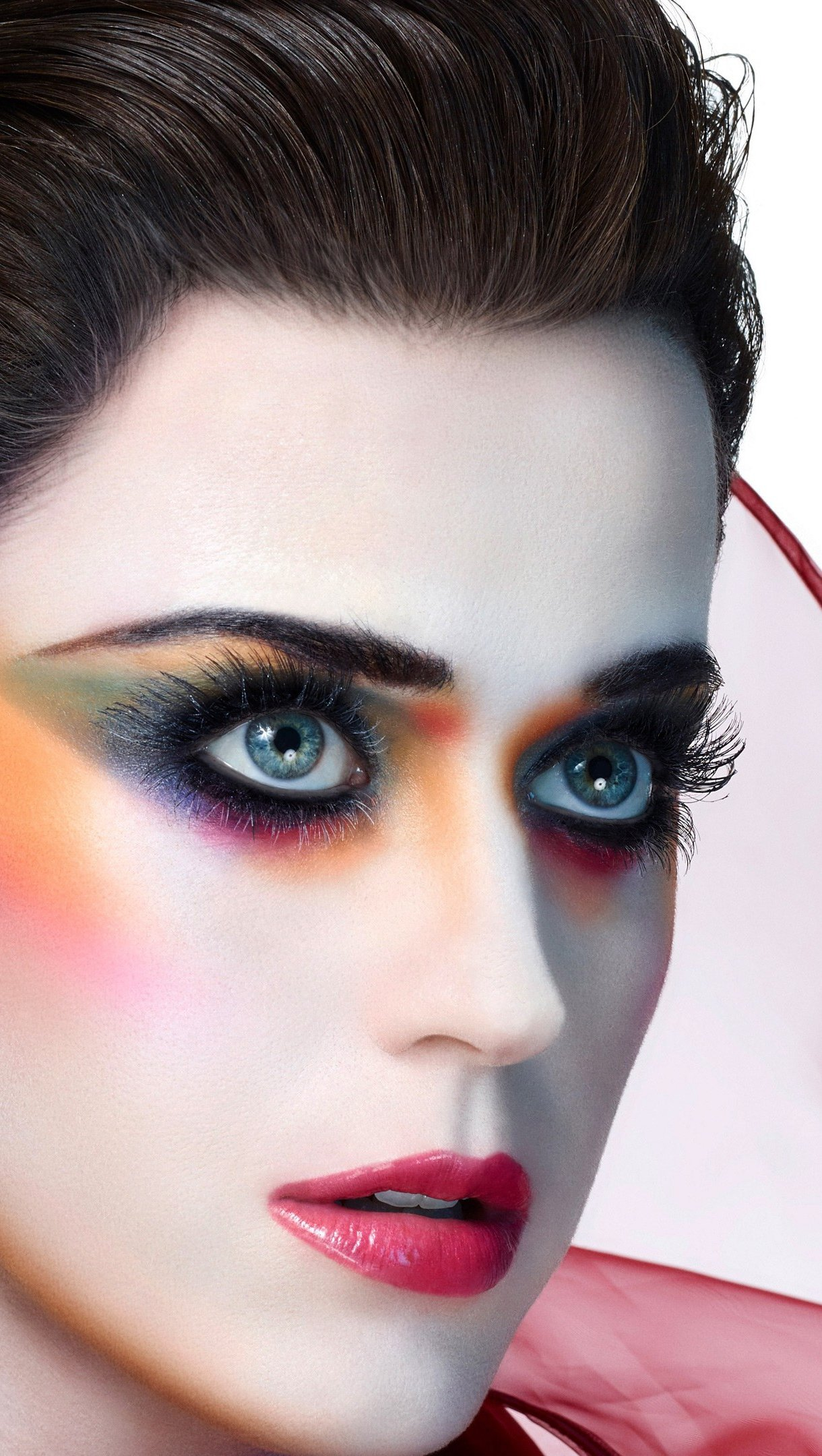 Wallpaper Katy Perry with makeup Vertical