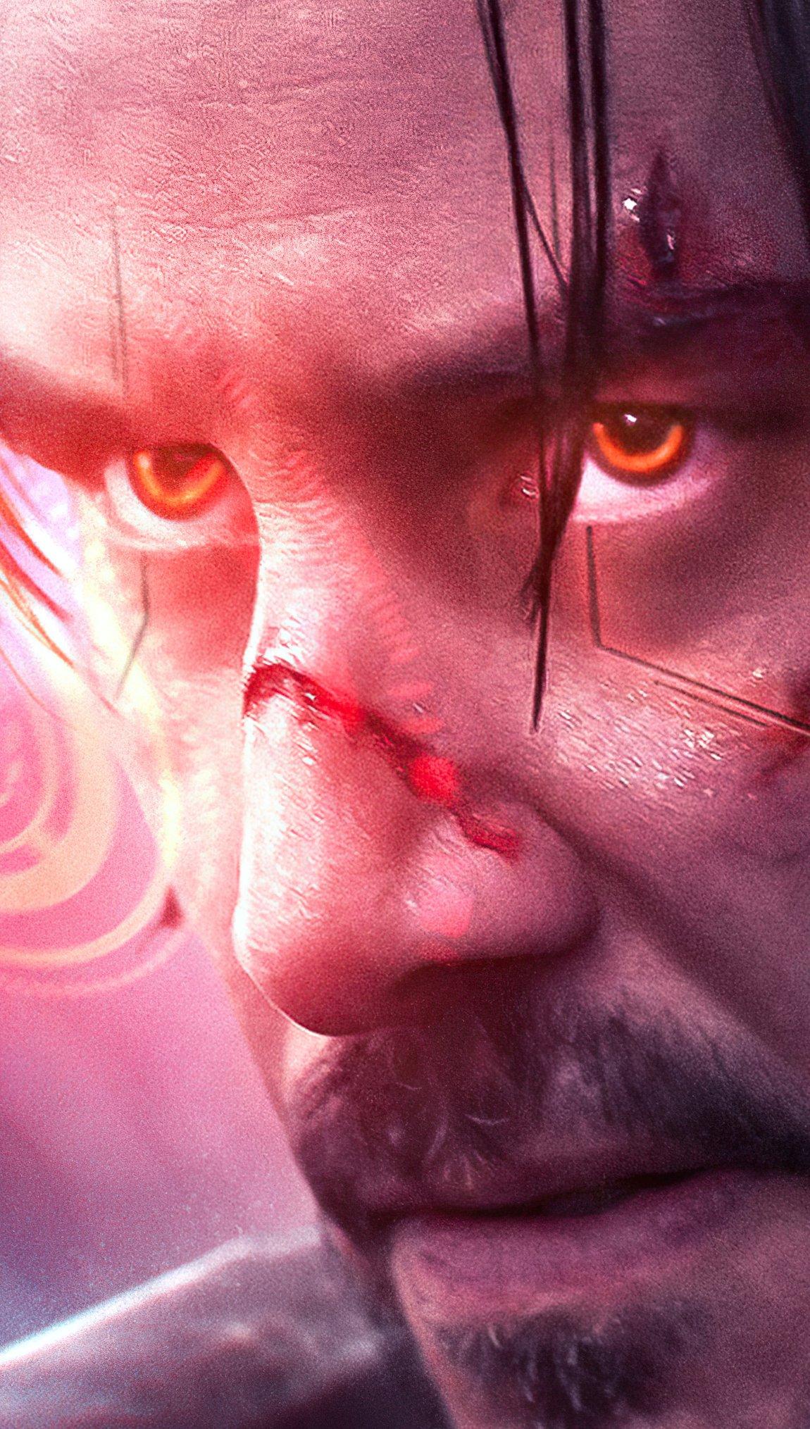 Wallpaper Keanu Reeves Cyberpunk 2077 Vertical