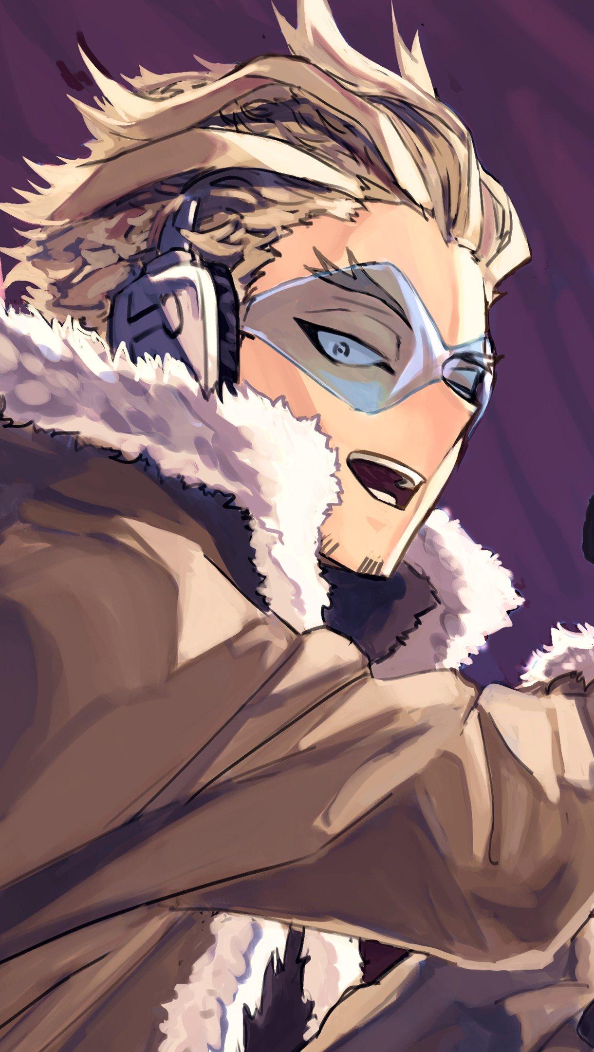 Anime Wallpaper Keigo Takami Hawks from My hero Academy Vertical