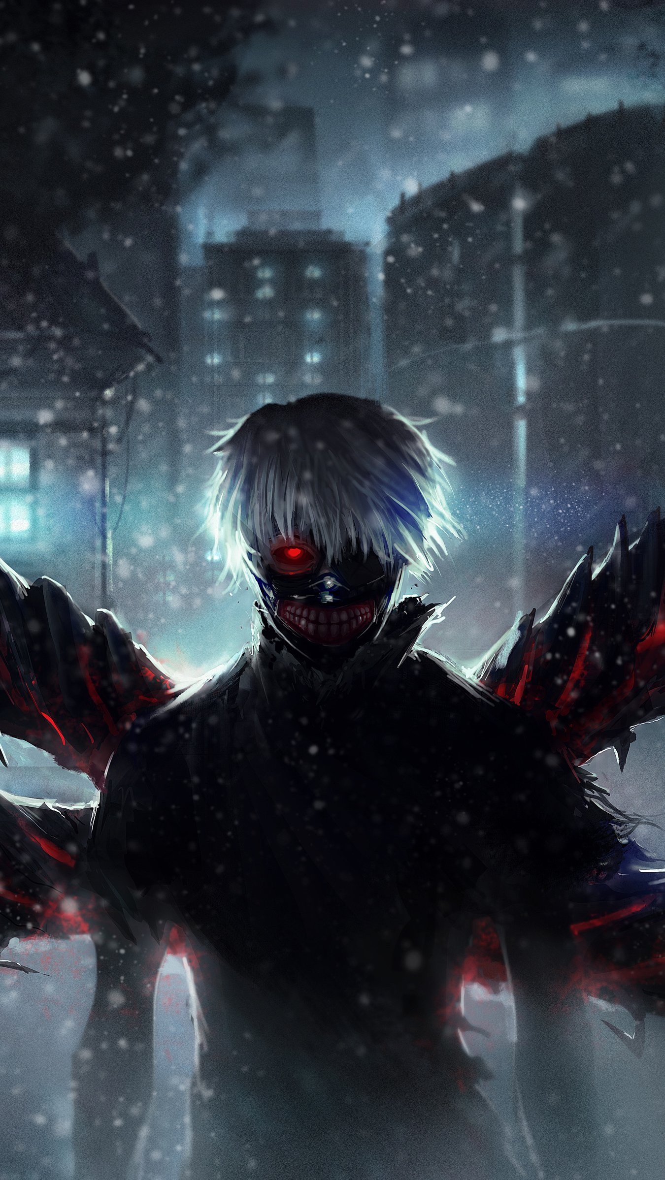 Fondos de pantalla Anime Ken Kaneki de Tokyo Ghoul Vertical