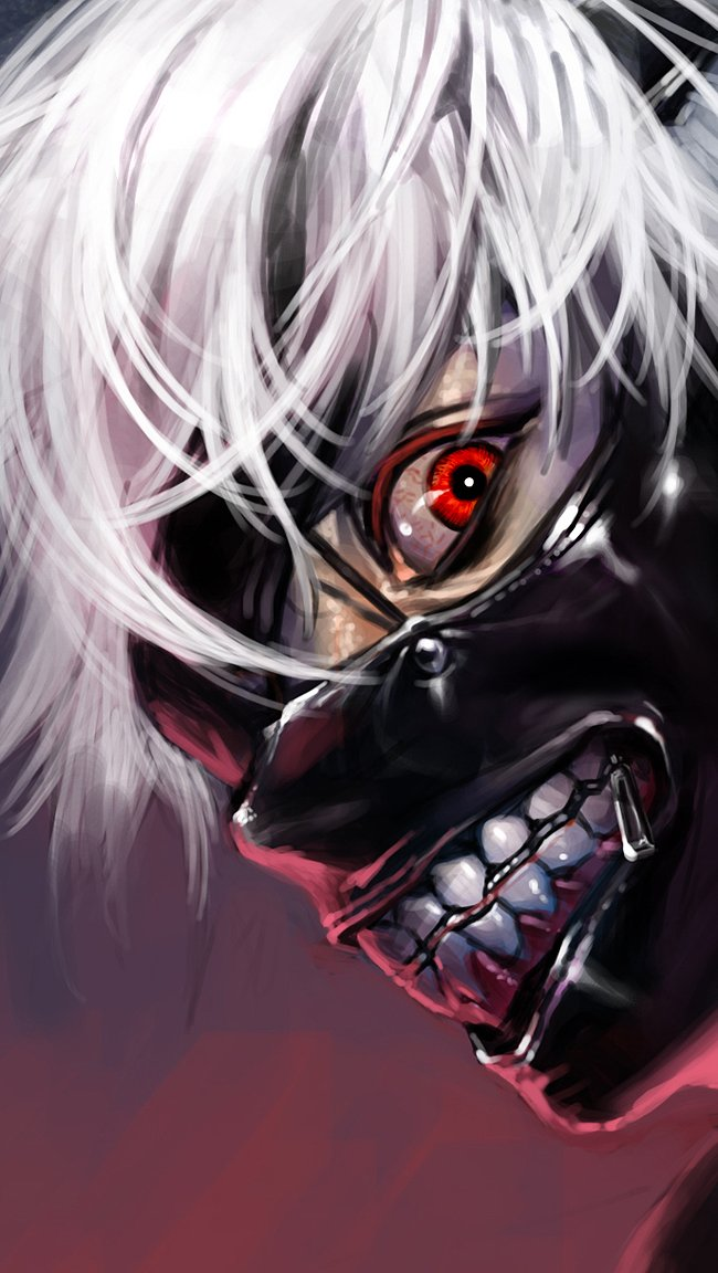 Fondos de pantalla Anime Ken Kaneki personaje de Tokyo Ghoul Vertical