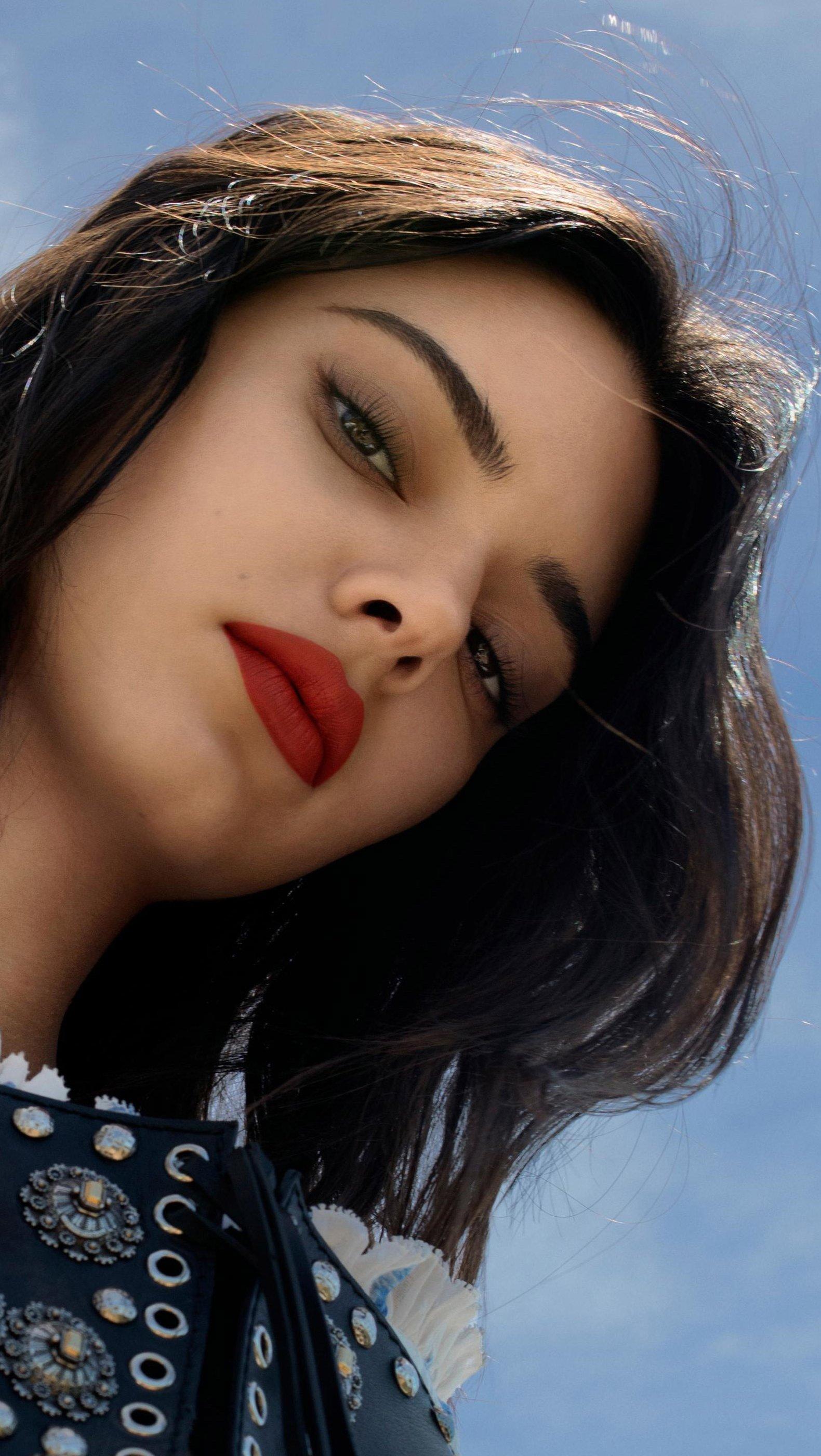 Fondos de pantalla Kendall  Jenner sesión de fotos Vertical