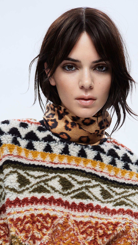 Wallpaper Kendall Jenner Zoey Grossman for Elle Vertical