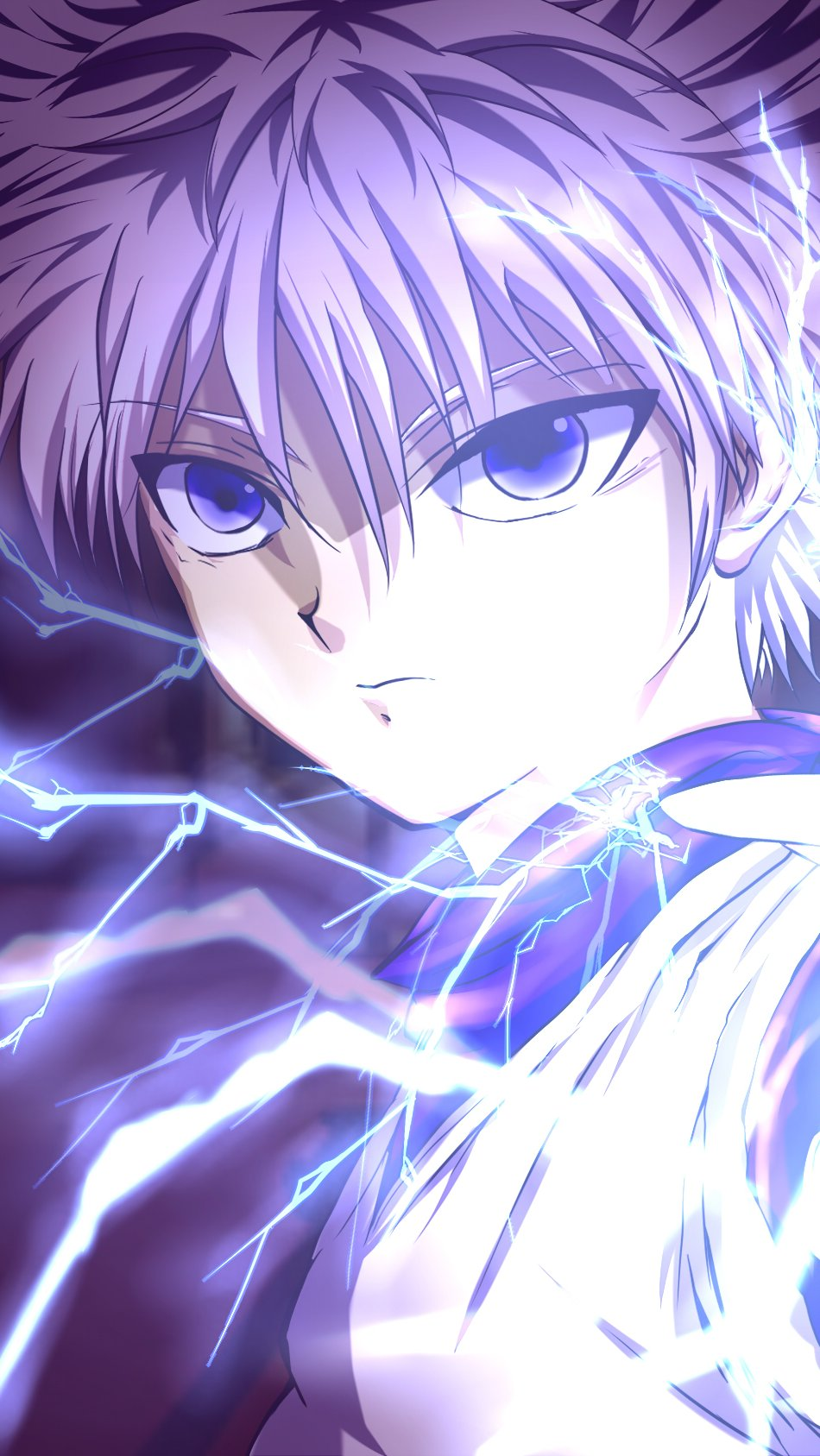 Anime Wallpaper Killua Zaoldyeck Hunter x Hunter Vertical