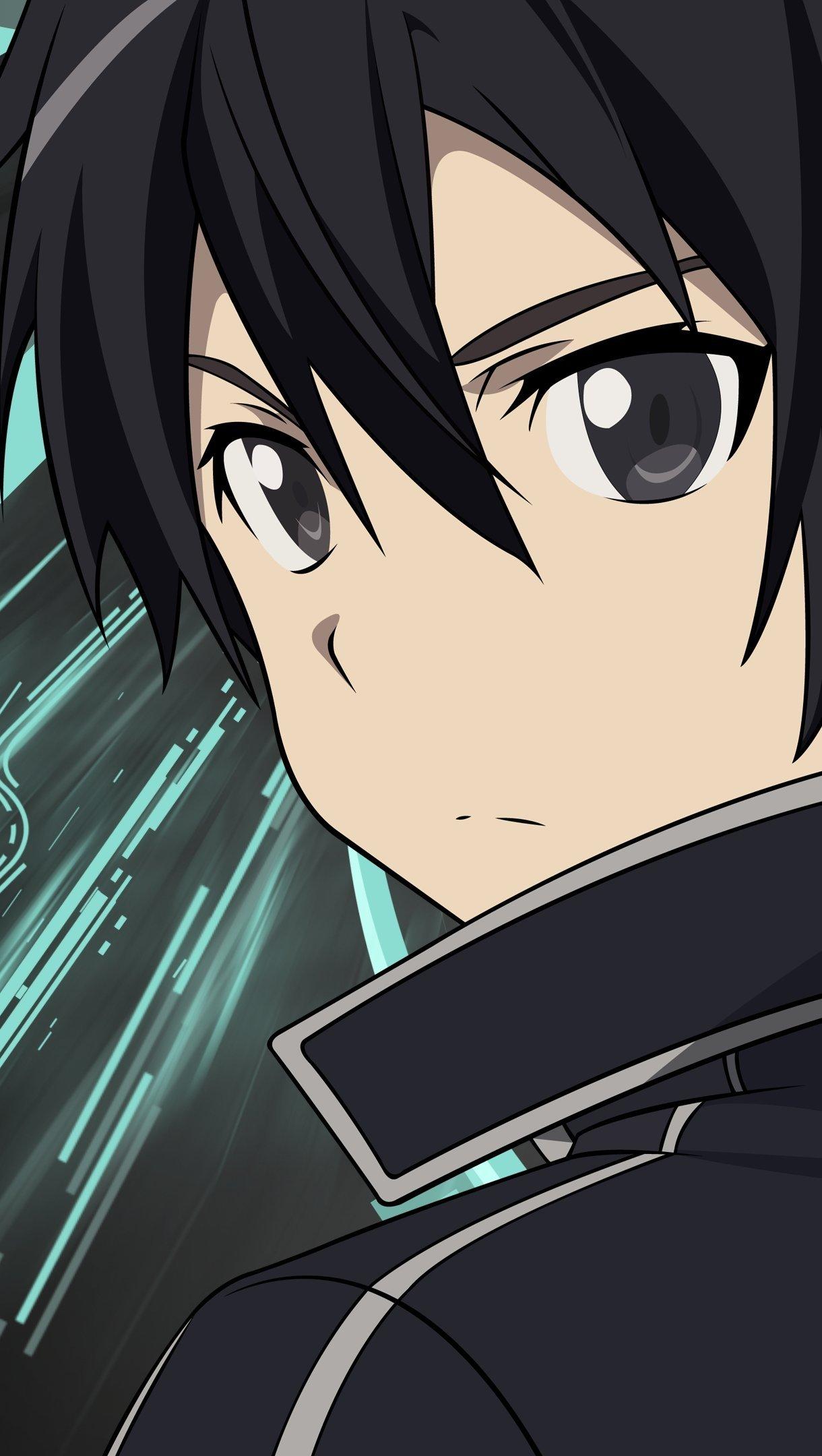 Fondos de pantalla Anime Kirito Sword Art Online Vertical