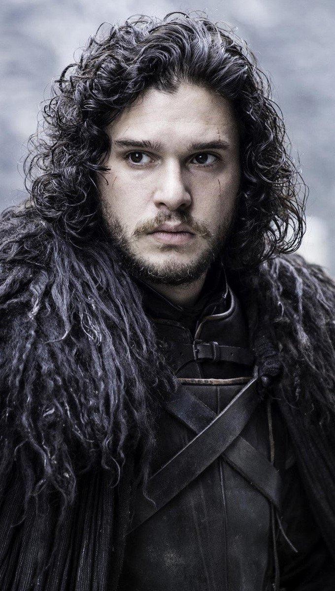 Wallpaper Kit Harington as Jon Snow Vertical