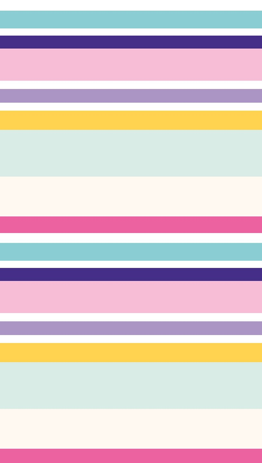 Wallpaper Kiut Pastel colored lines Vertical