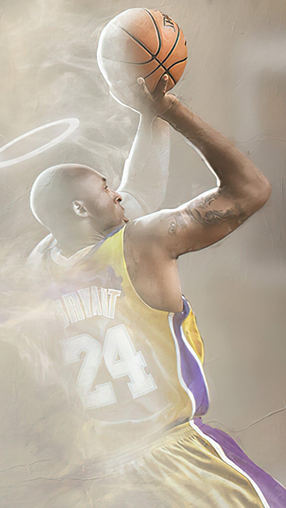 Fondos de pantalla Kobe Bryant Fanart Vertical
