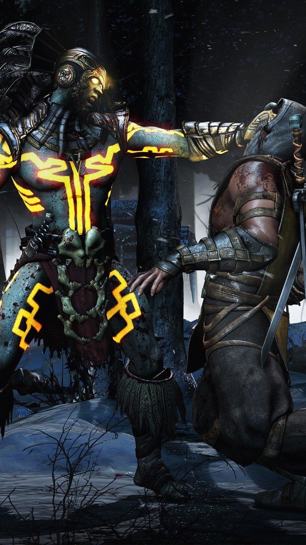 Fondos de pantalla Kotal Scorpion de Mortal Kombat X Vertical