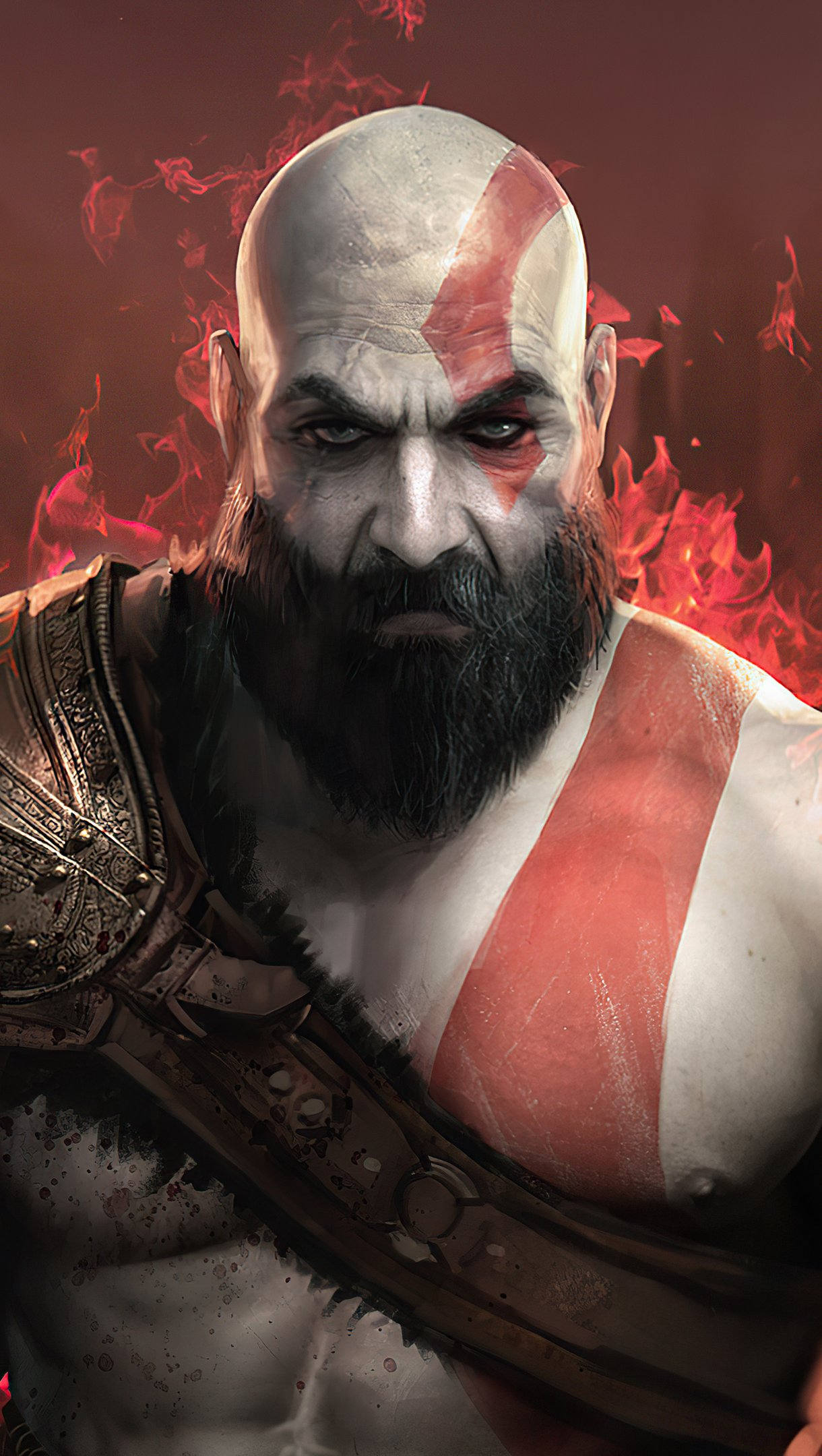 Fondos de pantalla Kratos de God of War 2020 Vertical