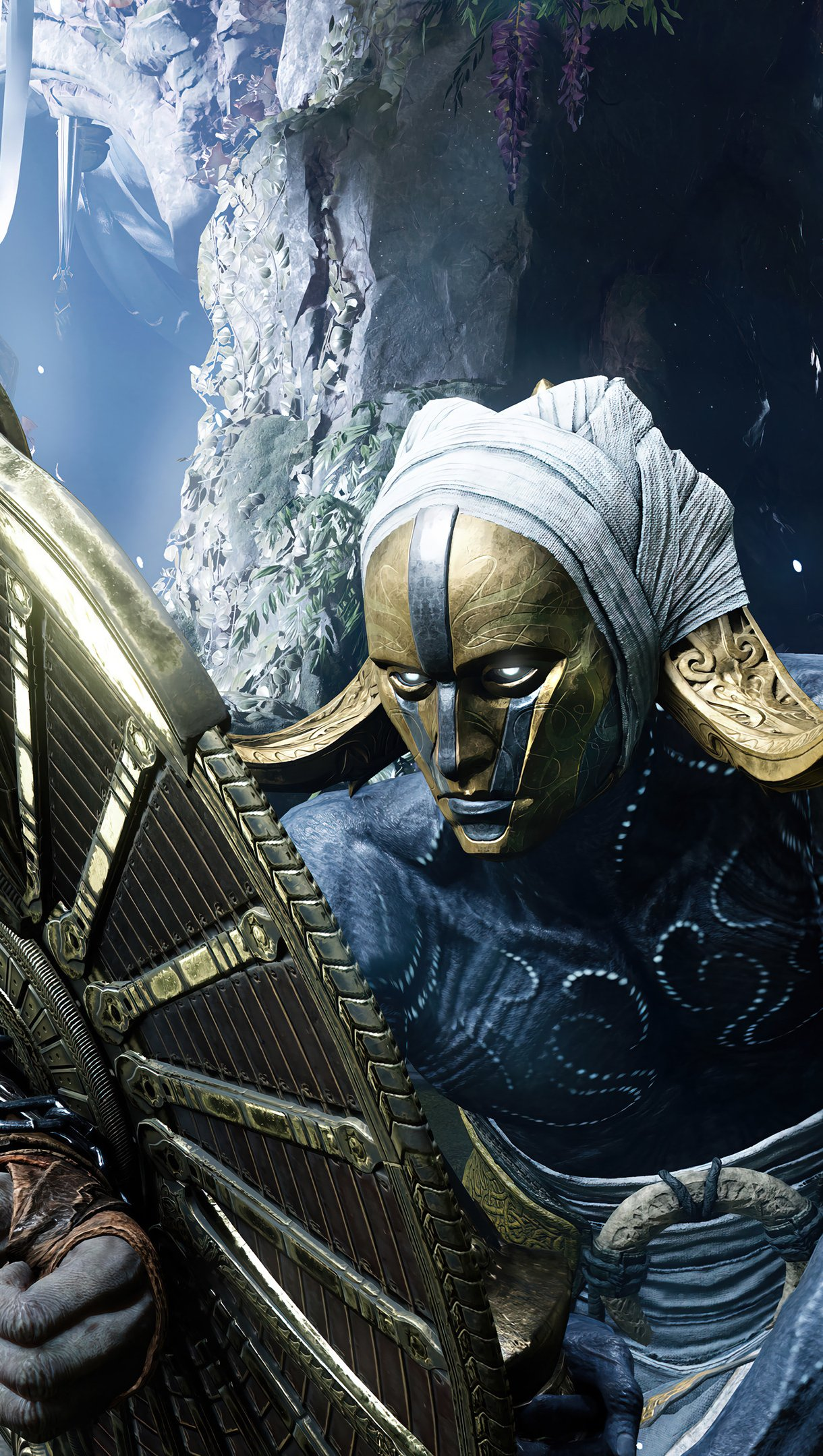 Fondos de pantalla Kratos y Ragnarok God of War Vertical