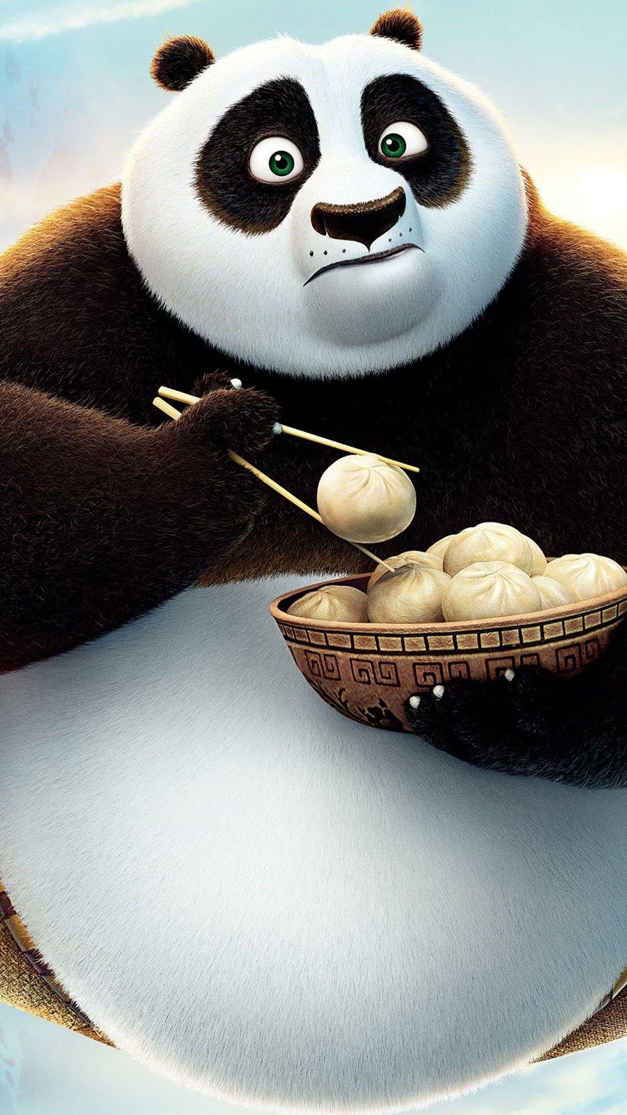 Wallpaper Kung fu panda 3 Vertical