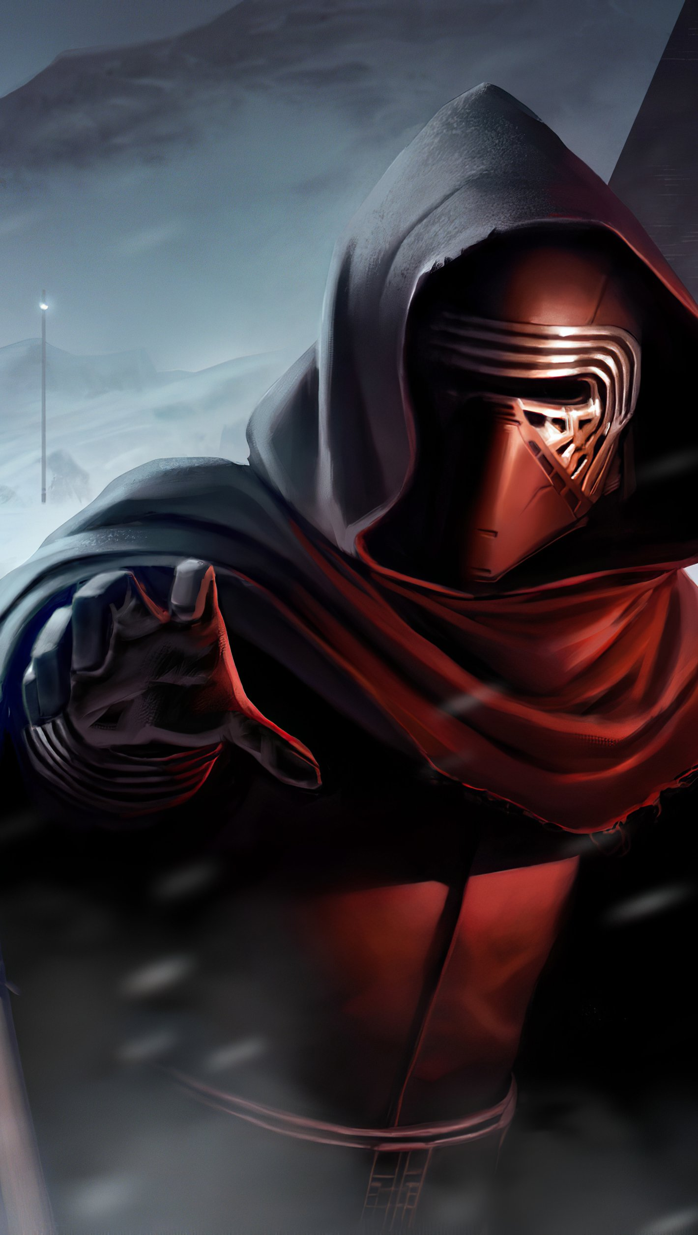 Kylo Ren From Star Wars Wallpaper 4k Ultra Hd Id 5496
