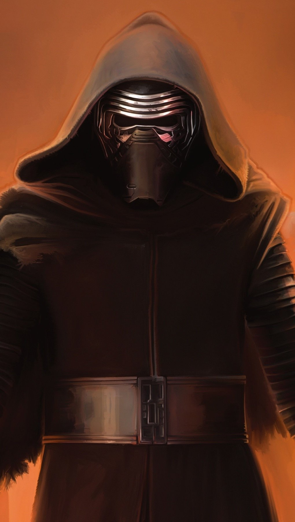 Wallpaper Kylo Ren in Star Wars The Awakening of Force Vertical