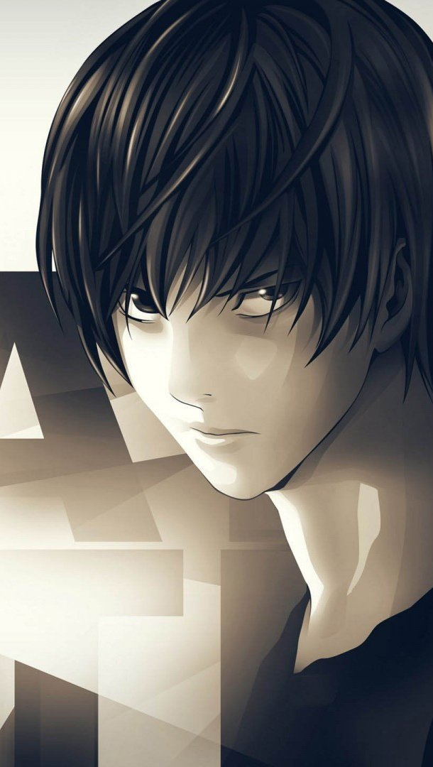 Anime Wallpaper L and Light Yagami Vertical