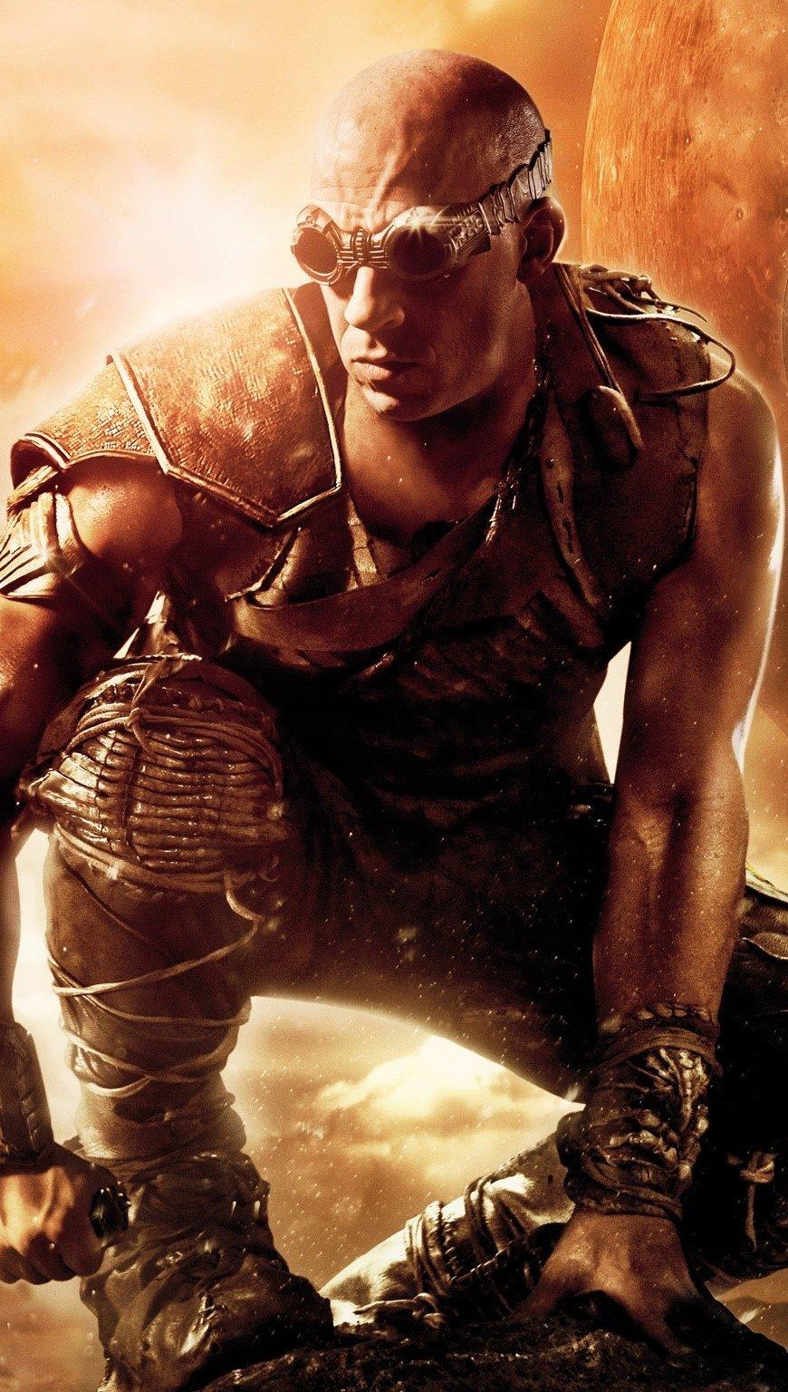 Wallpaper The Battle of Riddick Vertical