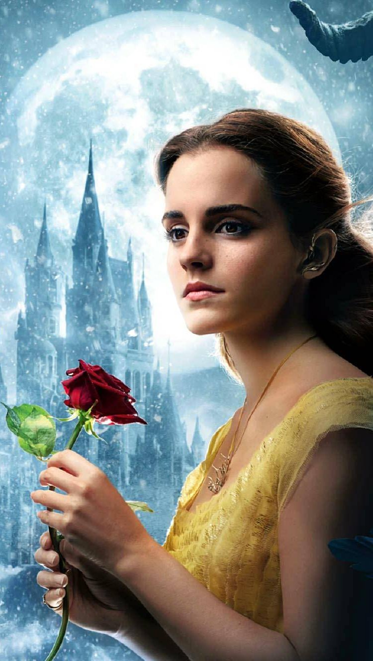 Wallpaper Beauty and the Beast Vertical