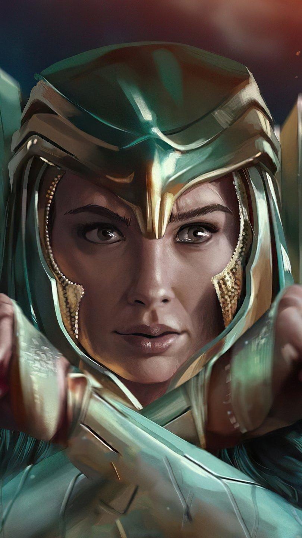 Wallpaper Wonder Woman Gal Gadot Vertical