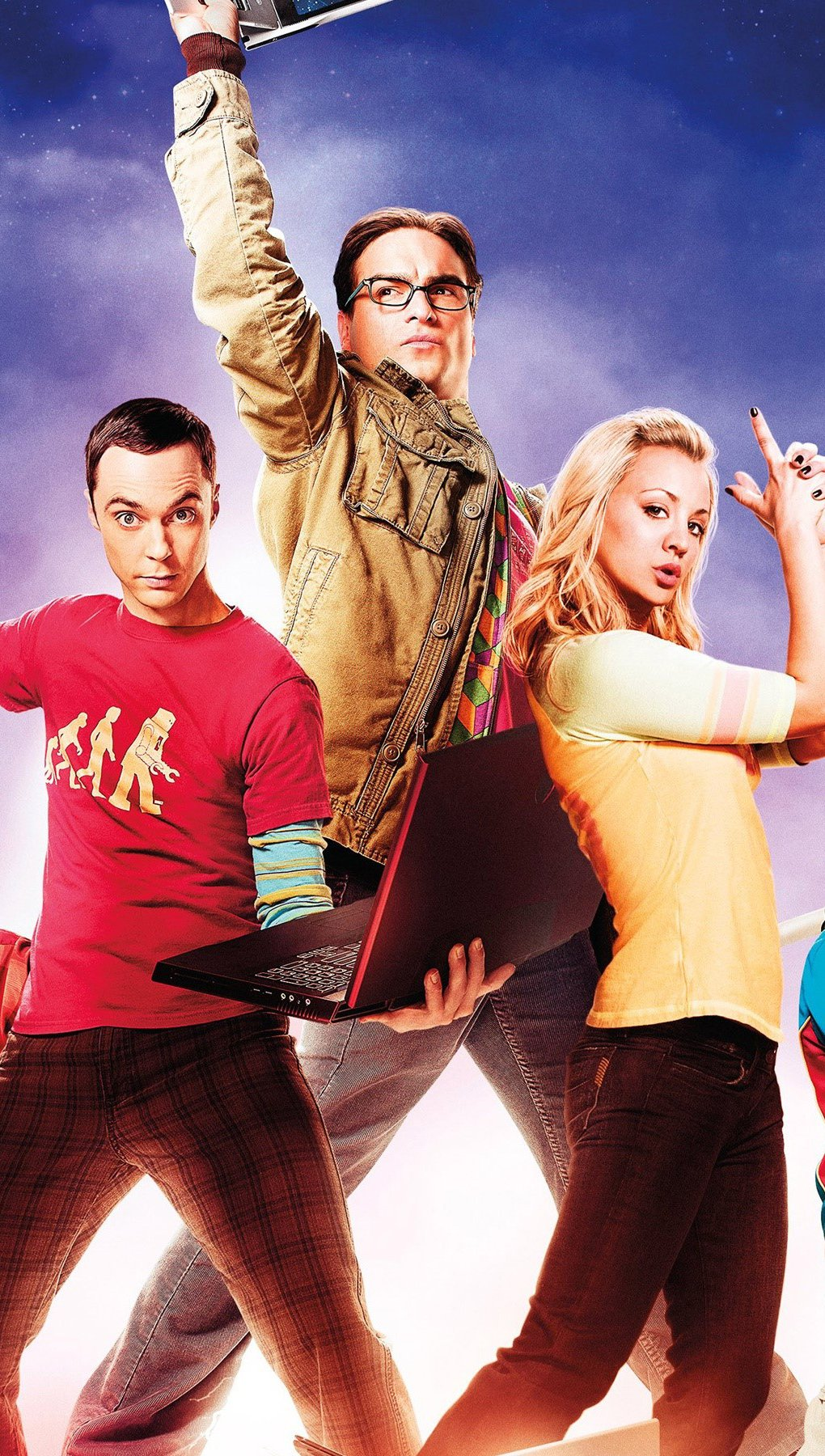 Wallpaper Big Bang Theory Vertical