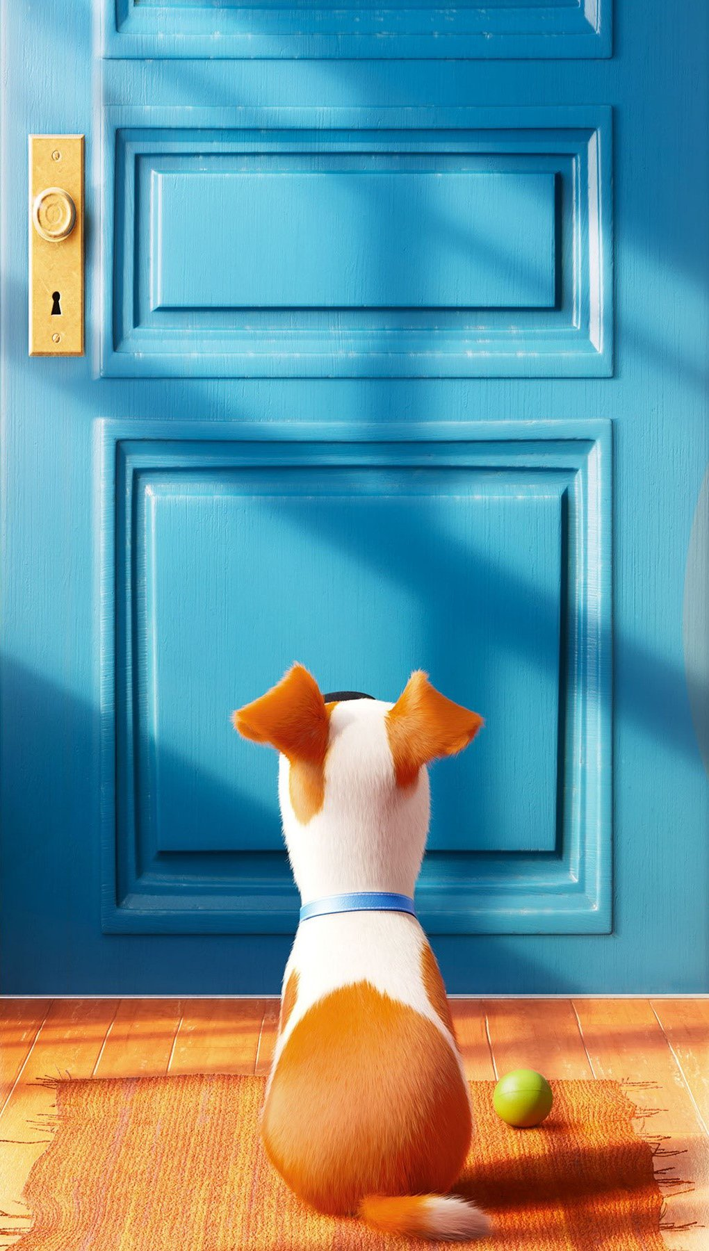 Wallpaper The secret life of pets Vertical