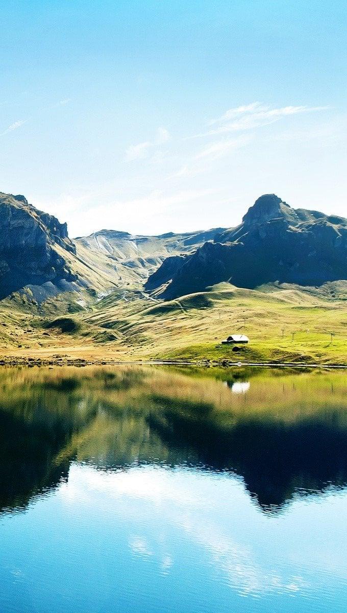 Fondos de pantalla Lago en Suiza Vertical