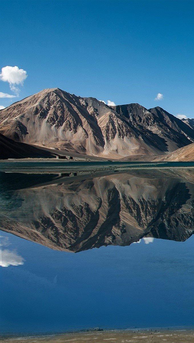 Fondos de pantalla Lago Pangong en Jammu y Kashmir Vertical