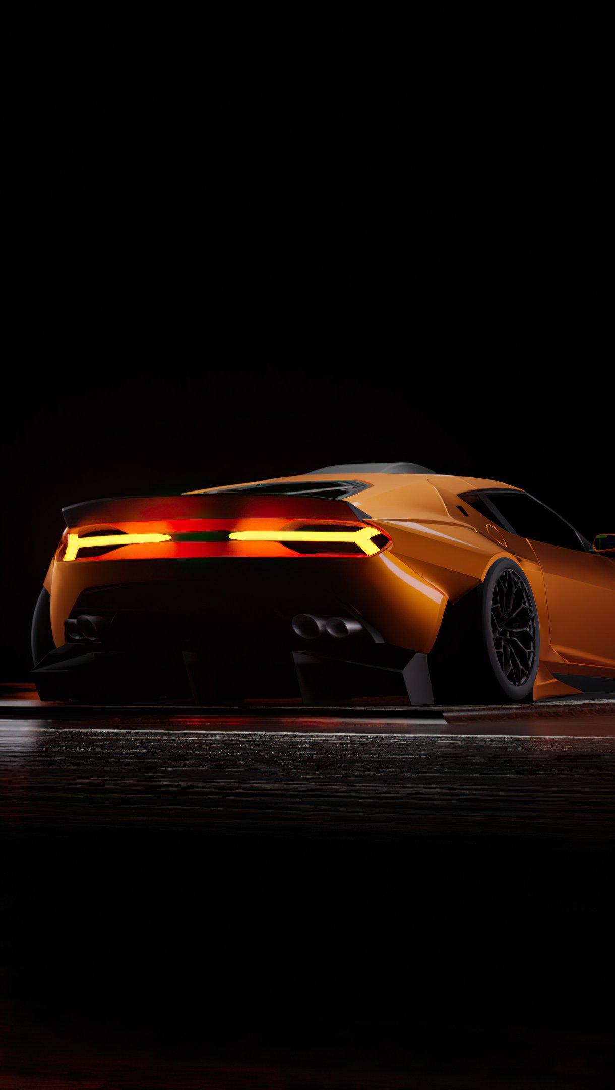 Wallpaper Lamborghini Asterion Vertical