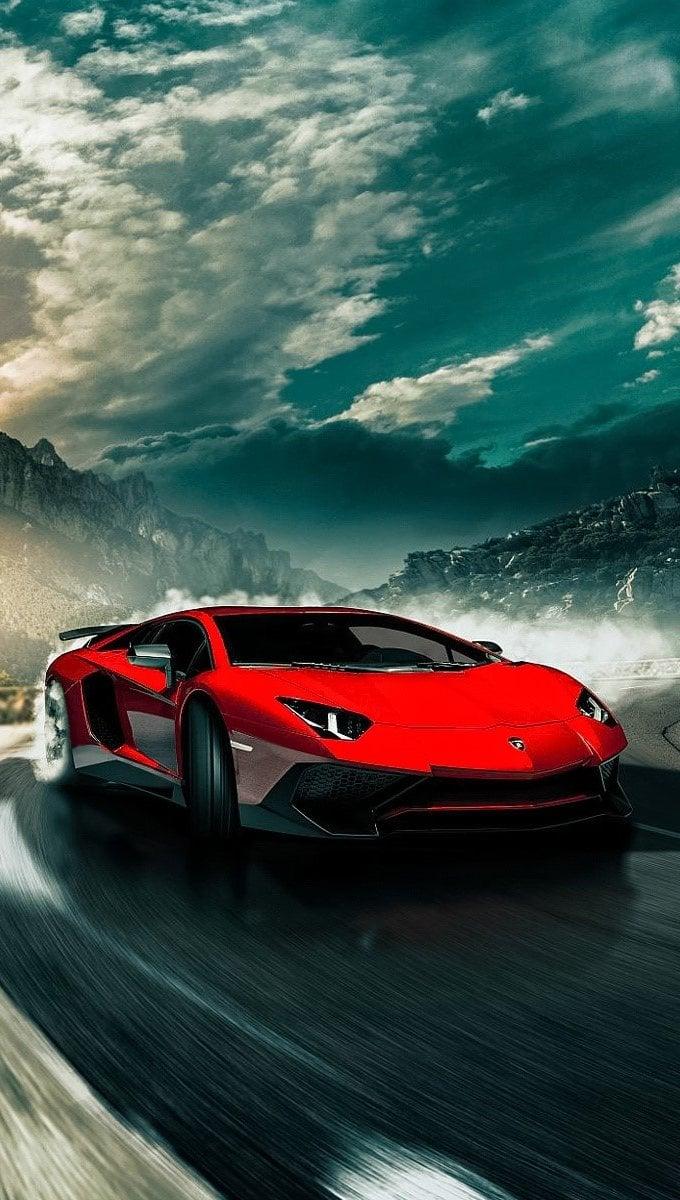 Wallpaper Lamborghini Aventador SV LP750 4 Vertical