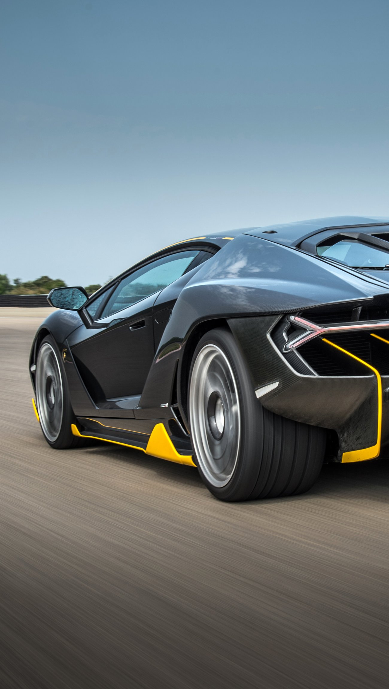 Fondos de pantalla Lamborghini Centenario Vertical