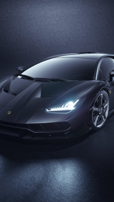 Fondos de pantalla Lamborghini Centenario Gris 2021 Vertical