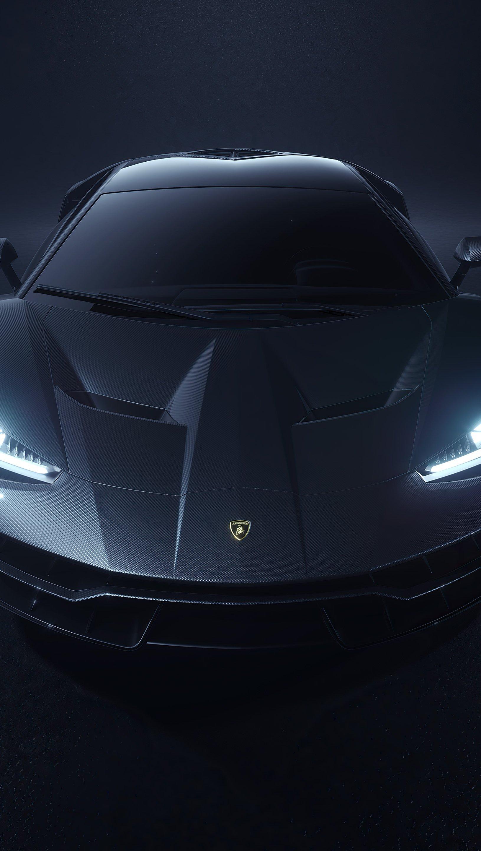 Fondos de pantalla Lamborghini Centenario Gris Vertical
