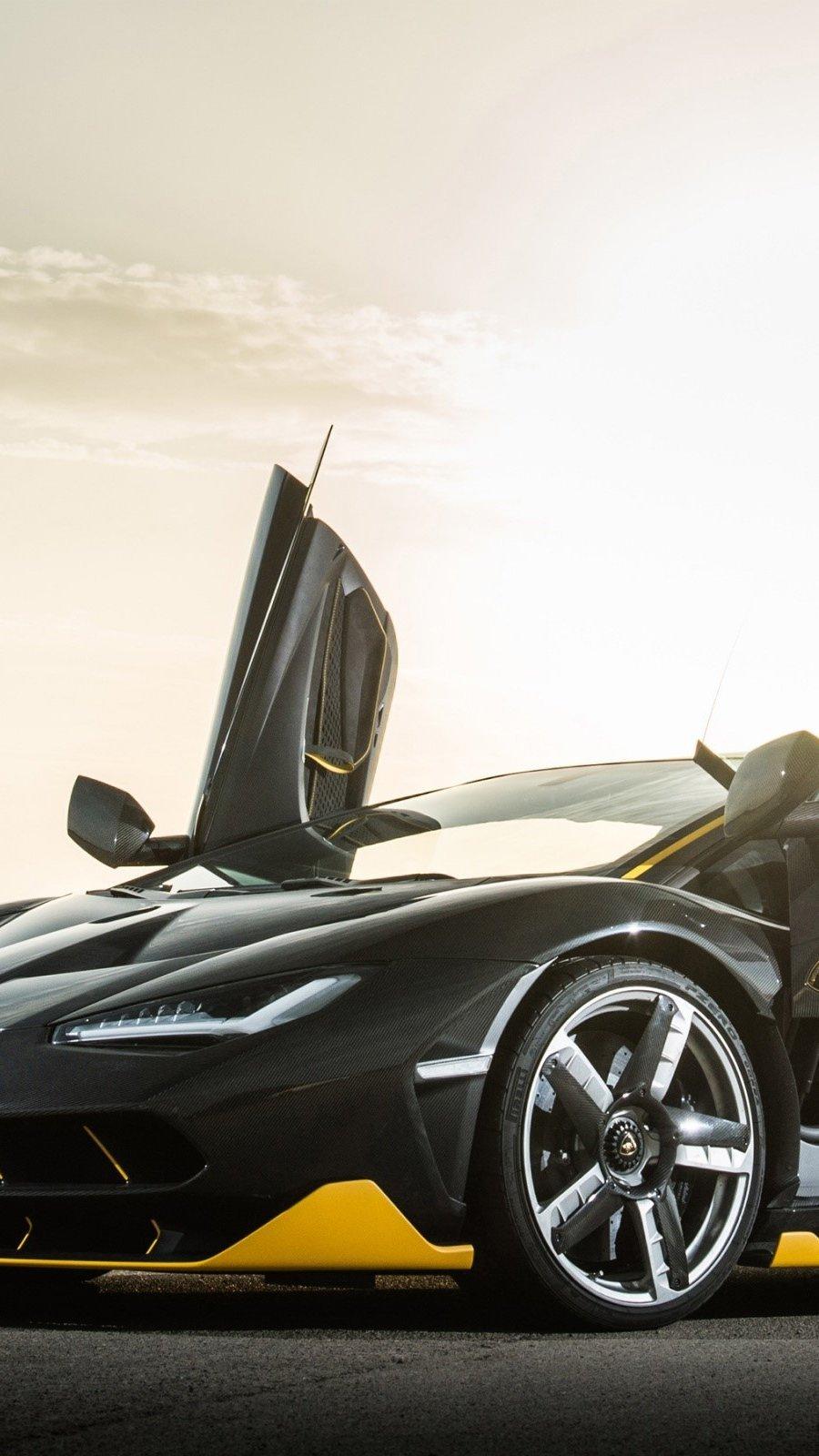 Wallpaper Lamborghini Centenario Hypercar Vertical