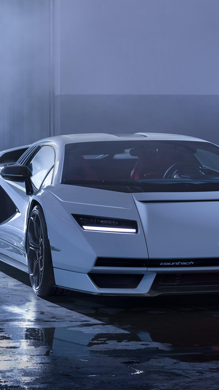 Fondos de pantalla Lamborghini Countach LPI 800 Vertical