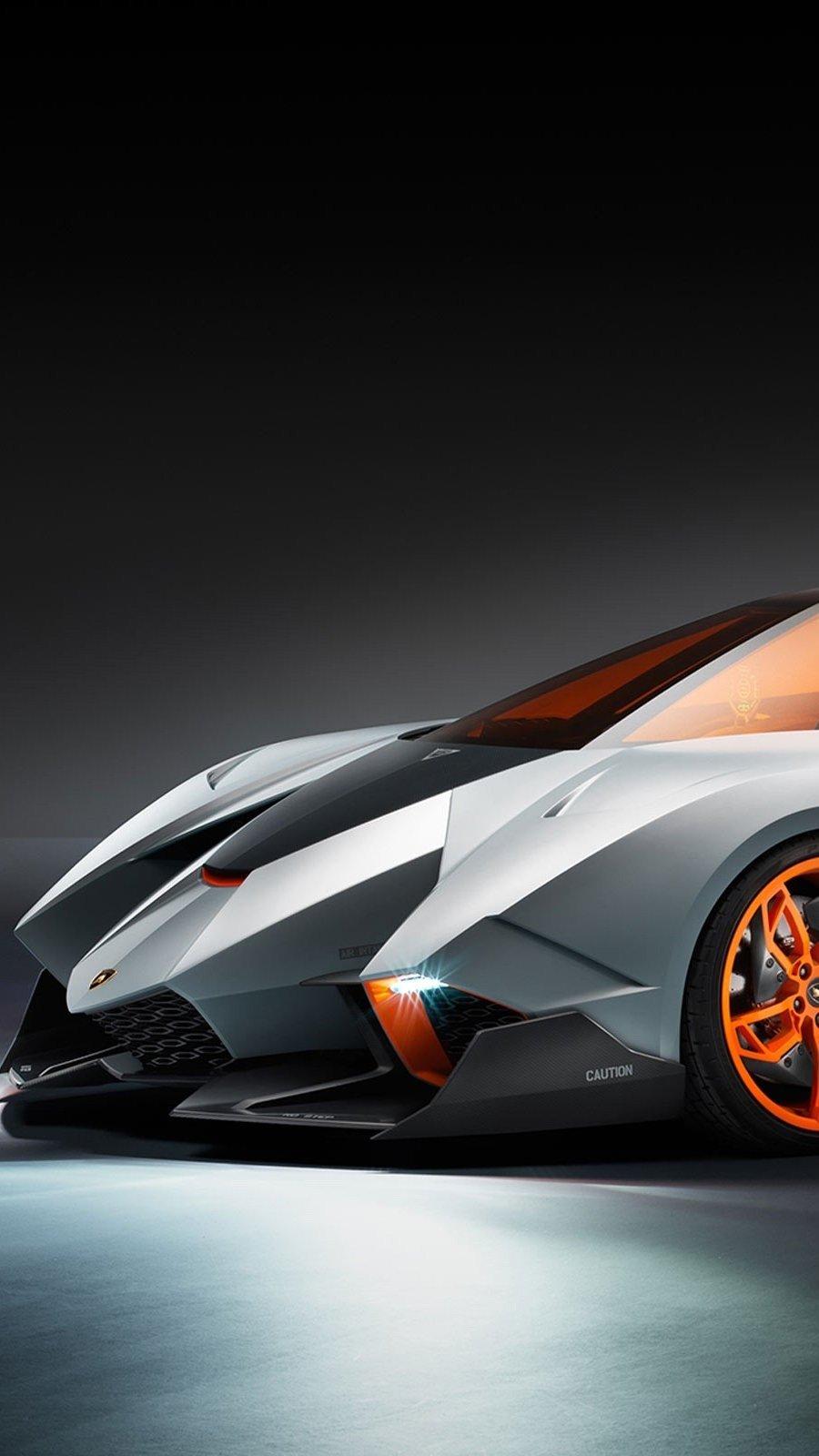 Fondos de pantalla Lamborghini egoista concept car Vertical