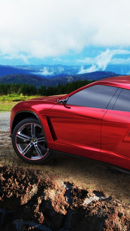 Wallpaper Lamborghini Urus Concept Vertical