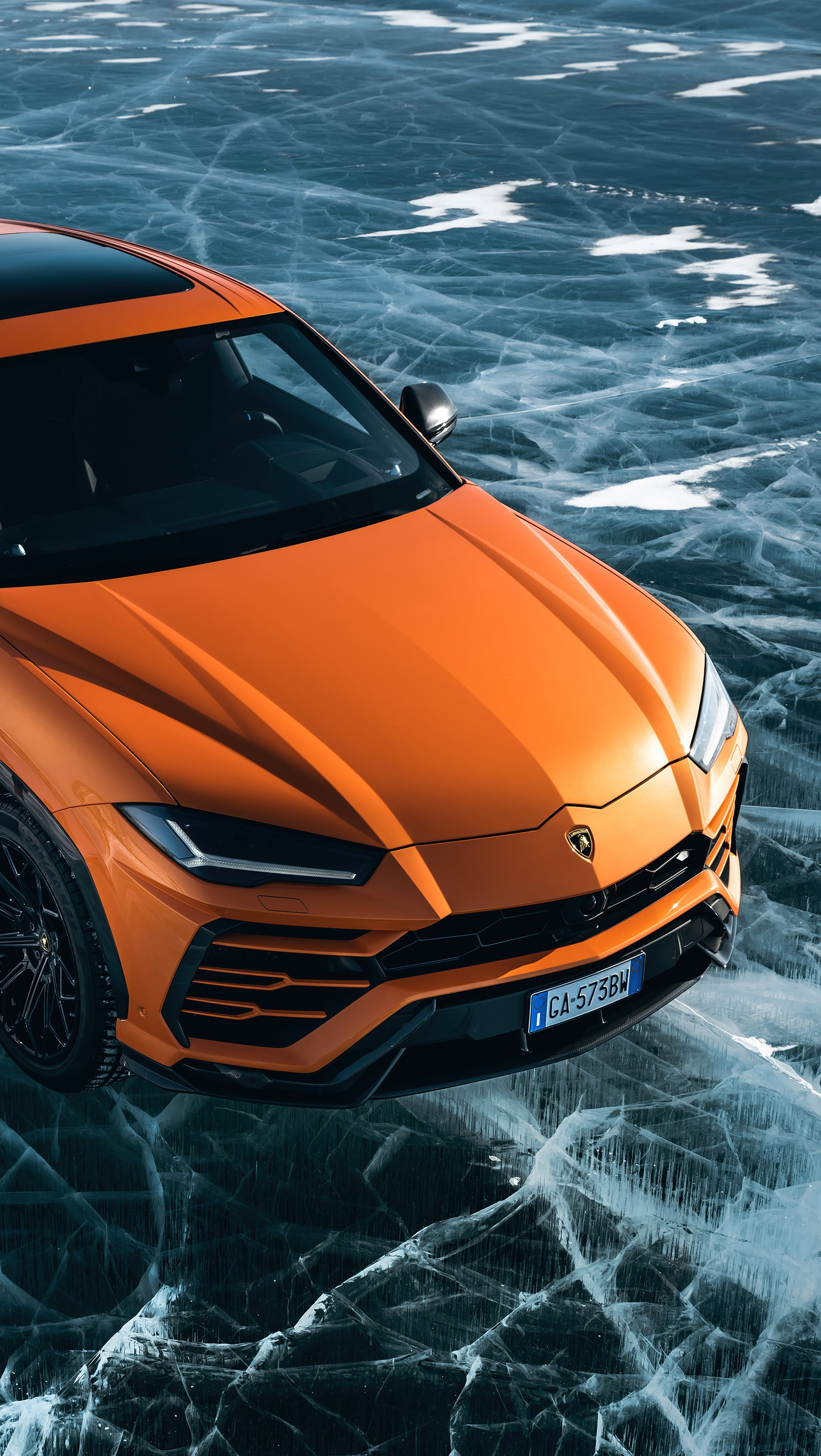Wallpaper Lamborghini Urus Pearl Capsule Vertical