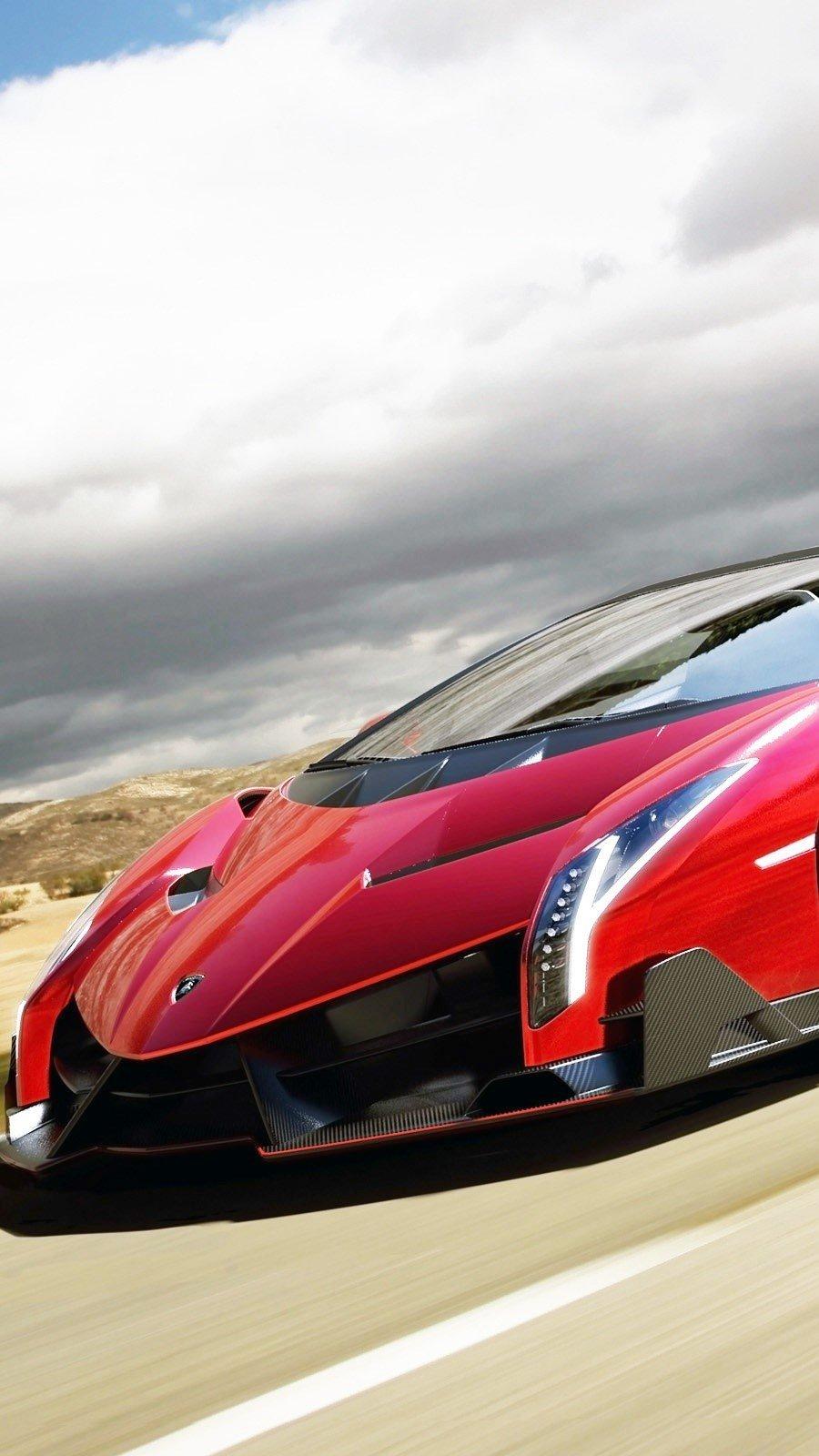 Wallpaper Lamborghini Veneno Roadster Vertical