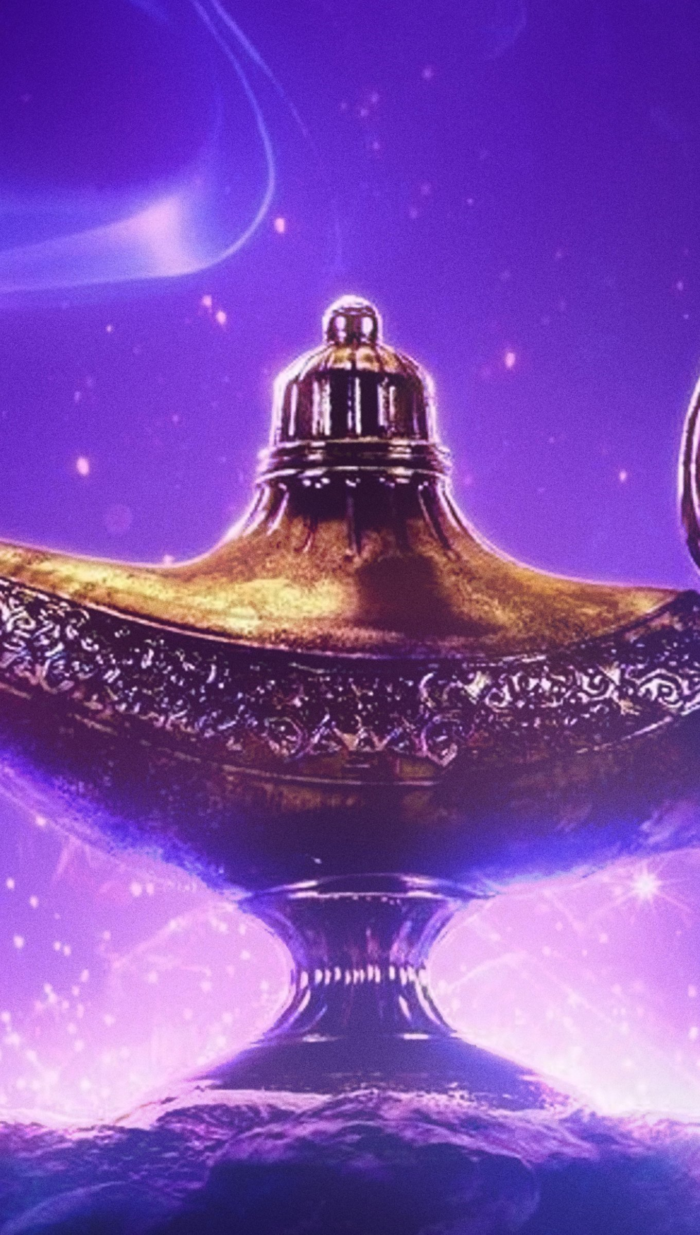 Fondos de pantalla Lampara de Aladin Vertical