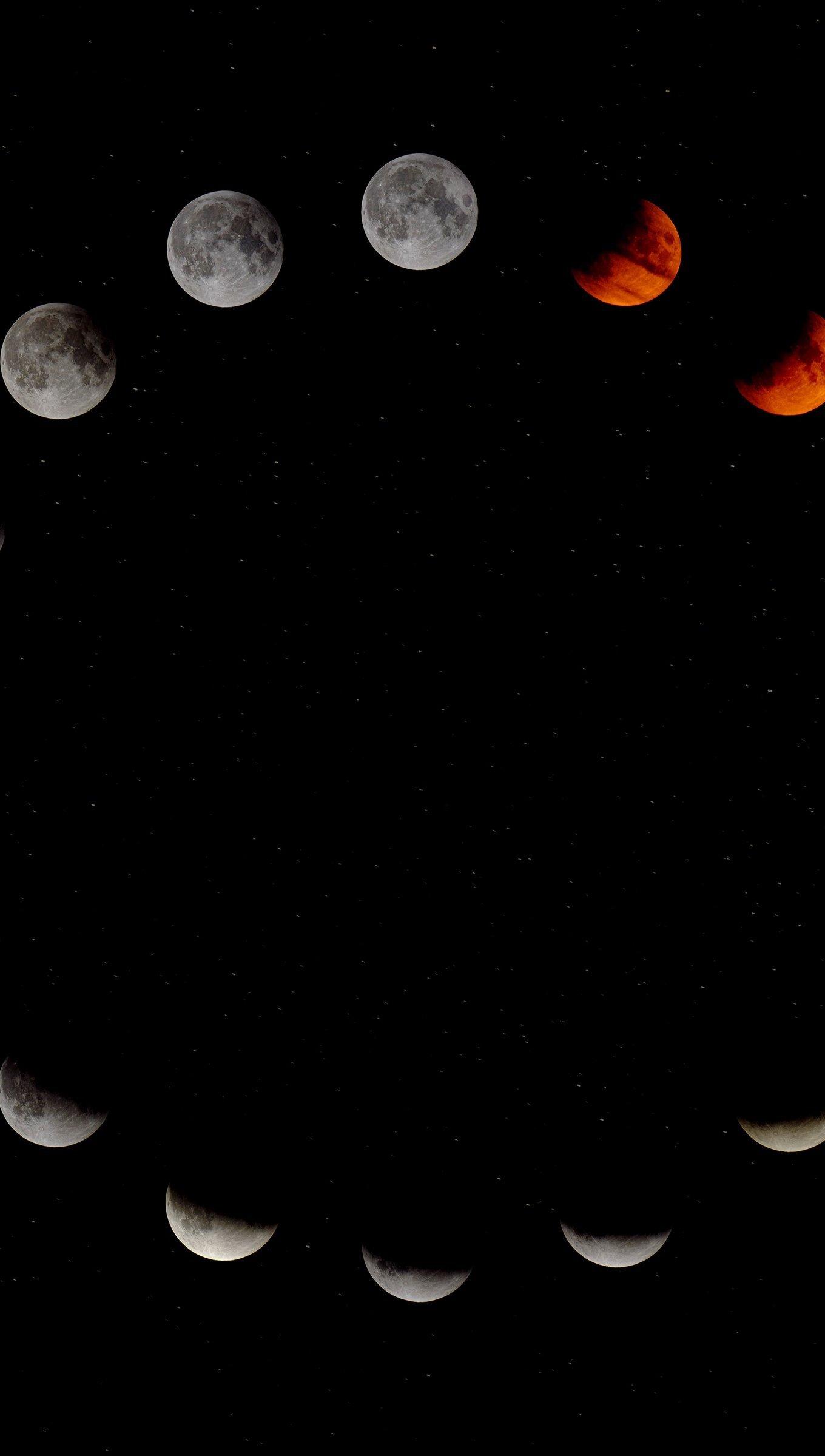 Fondos de pantalla Las fases de la luna Vertical
