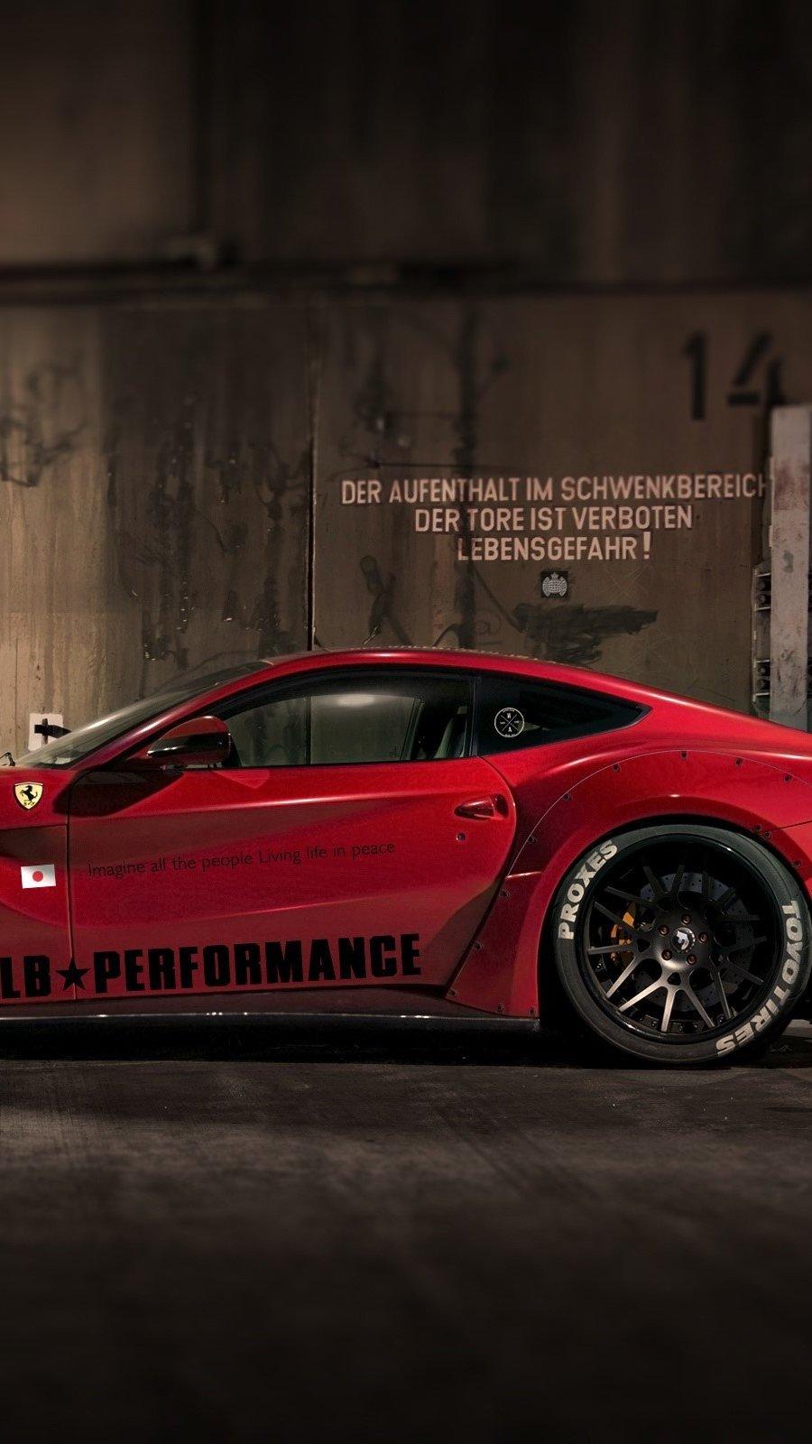 Fondos de pantalla LB performance Ferrari 458 Italia Vertical