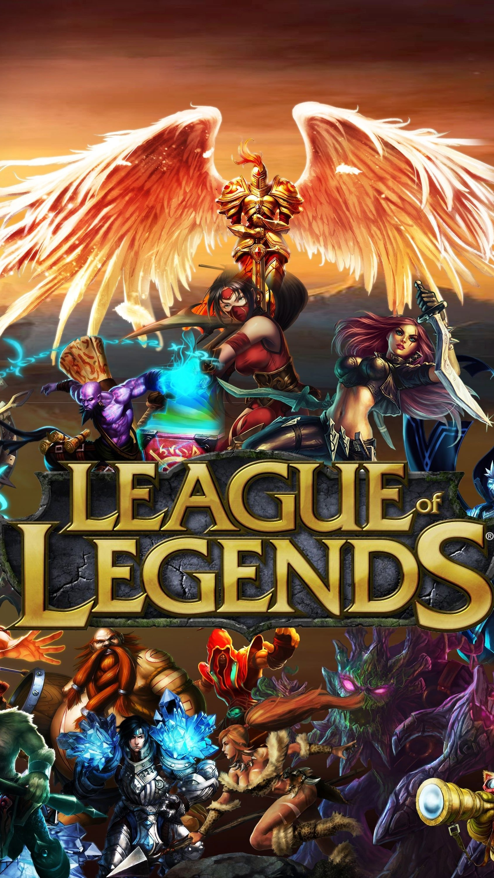 Fondos de pantalla League Of Legends Personajes Poster Vertical