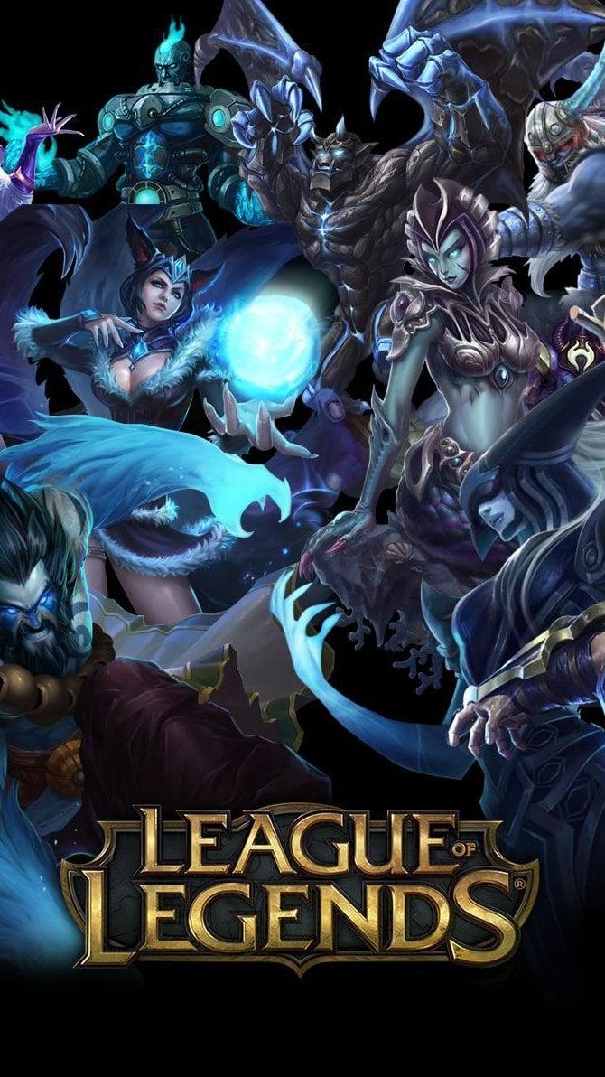 Fondos de pantalla League Of Legends Personajes Poster Vertical