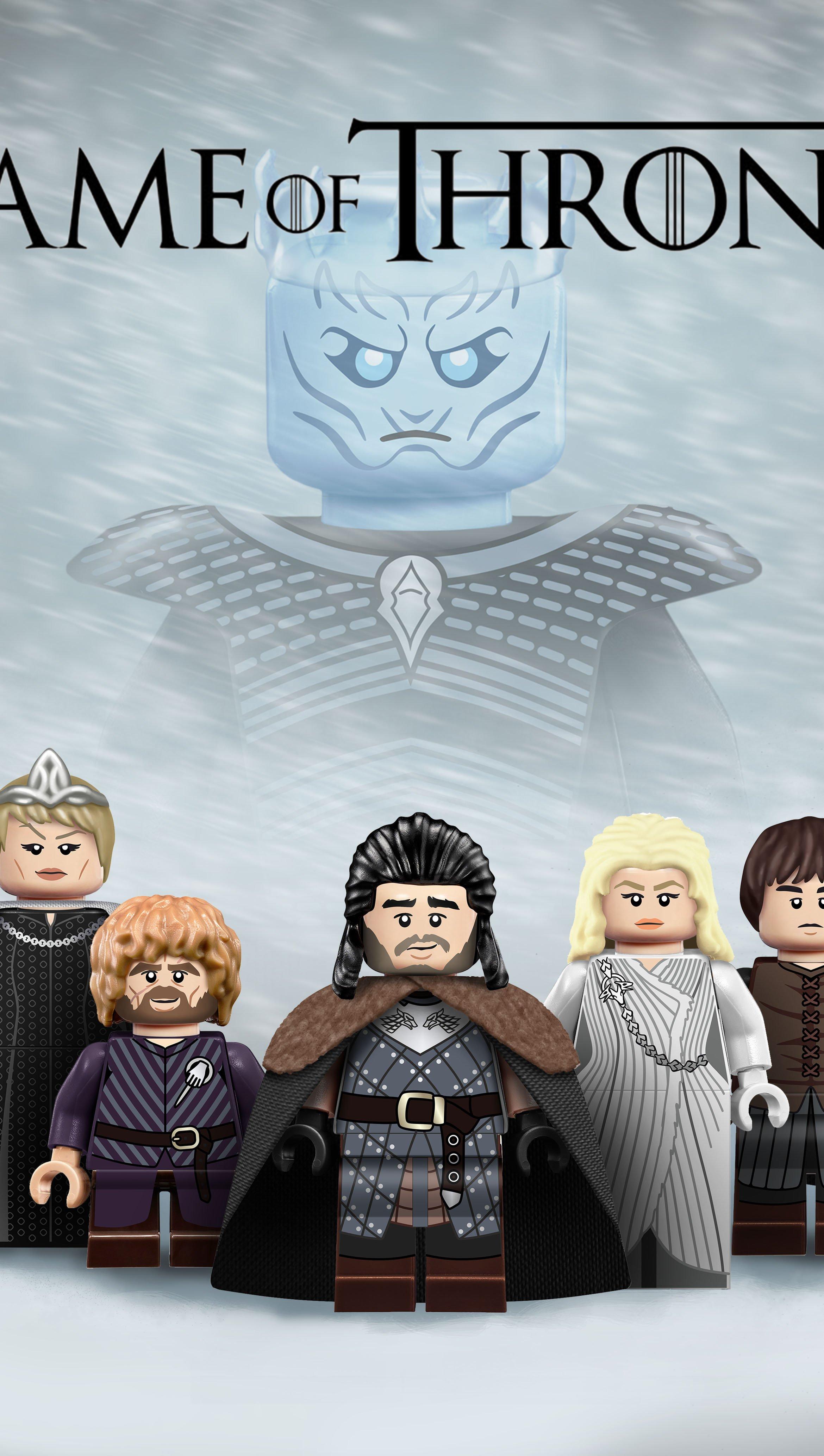Fondos de pantalla Lego Game of Thrones Vertical